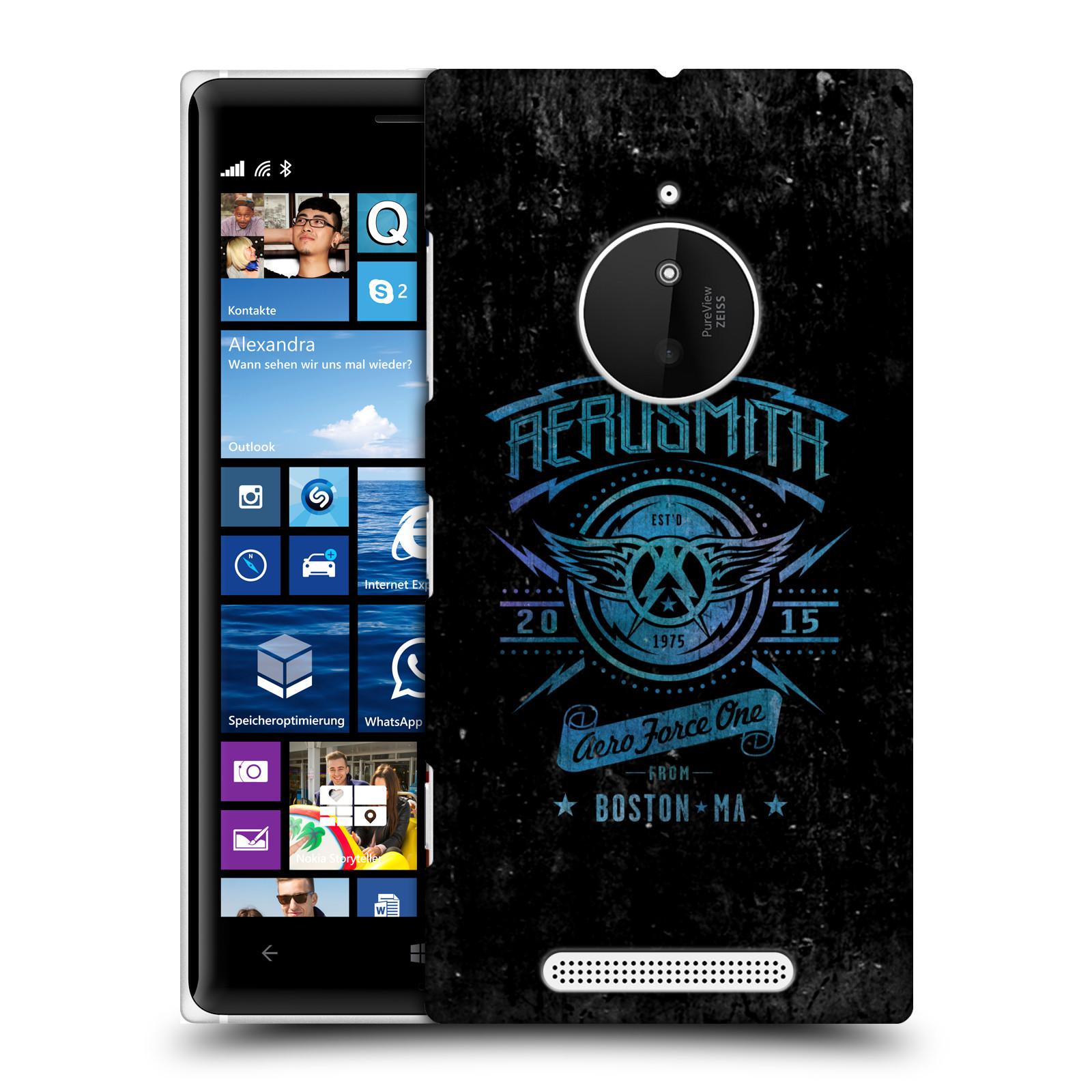 Plastové pouzdro na mobil Nokia Lumia 830 HEAD CASE - Aerosmith - Aero Force One