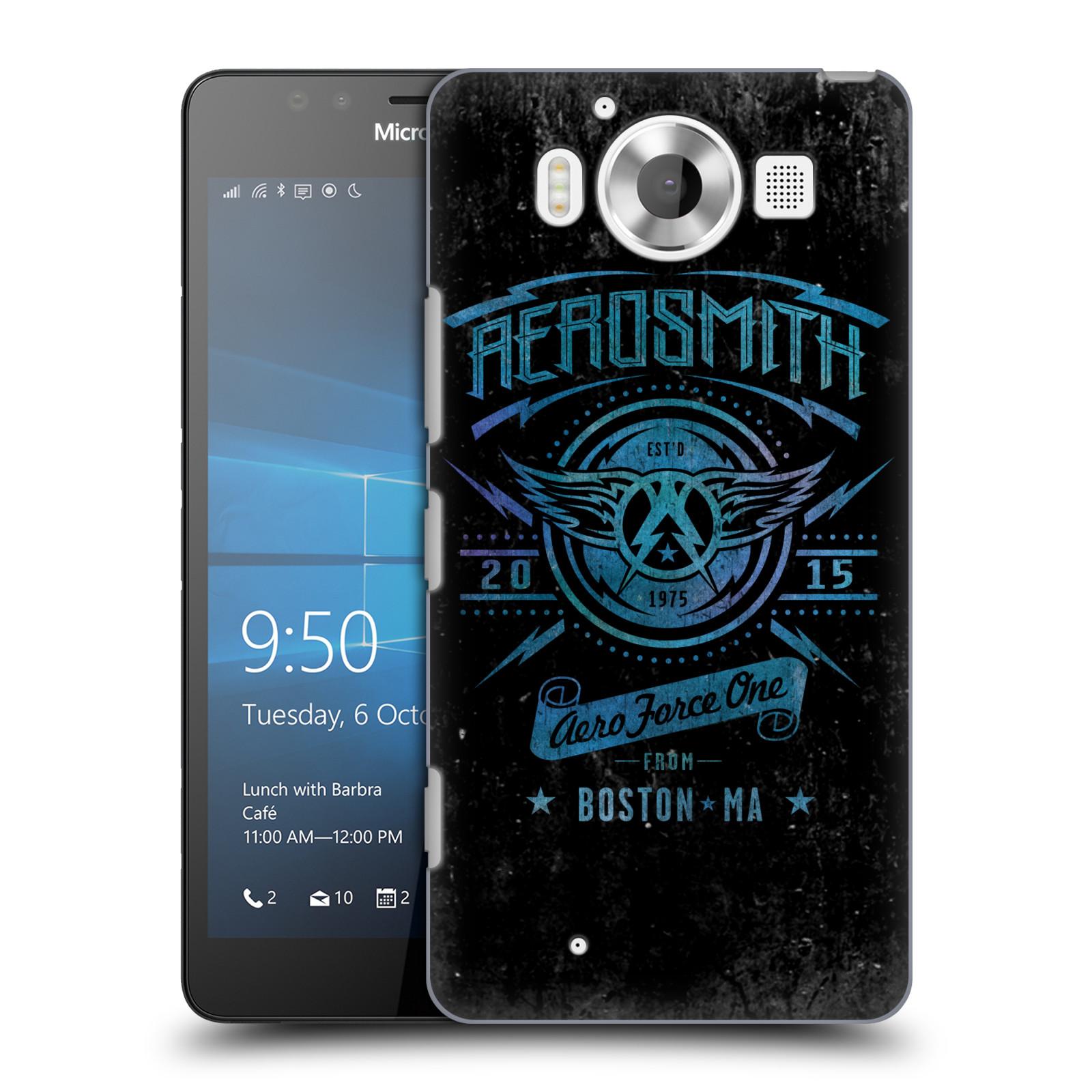 Plastové pouzdro na mobil Microsoft Lumia 950 HEAD CASE - Aerosmith - Aero Force One
