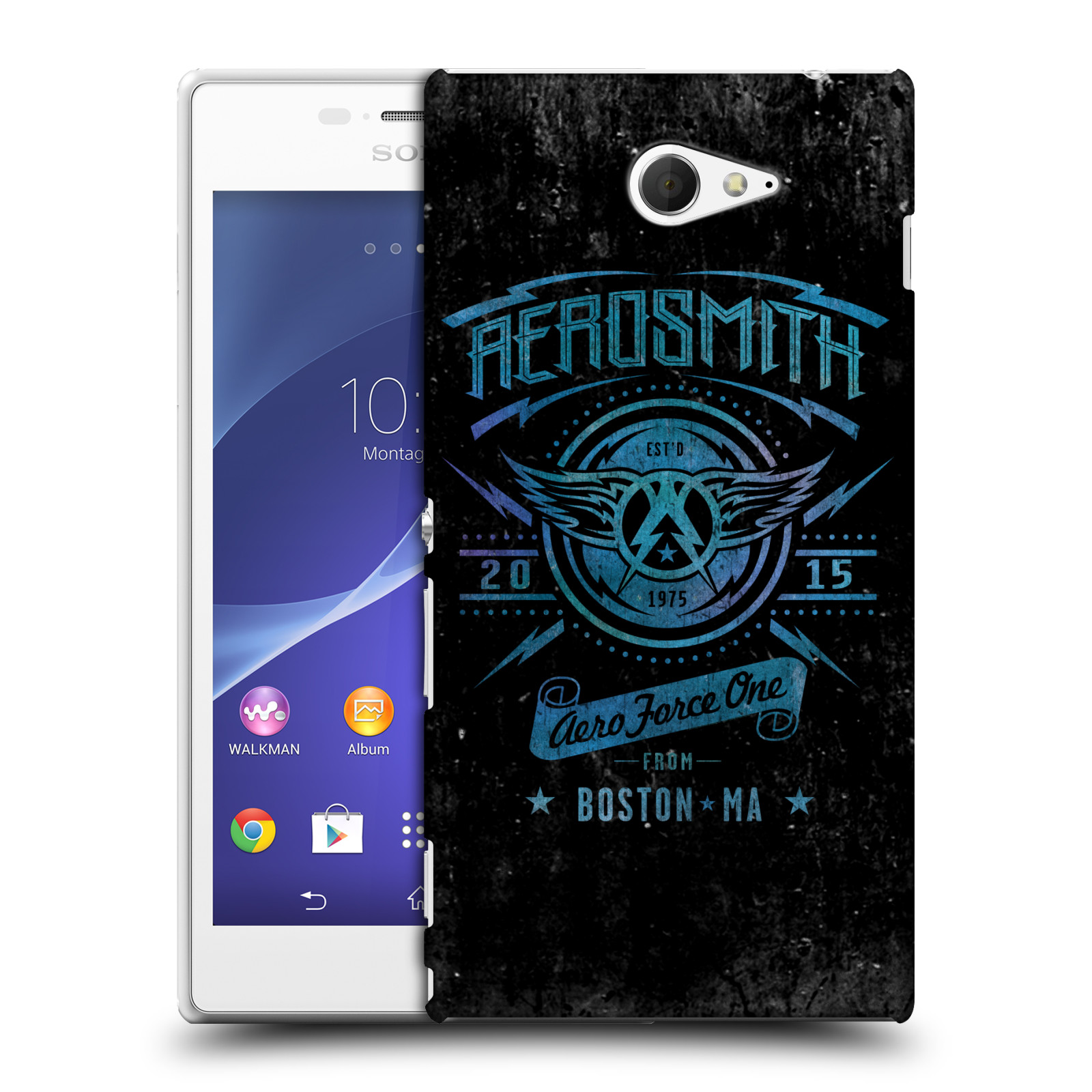 Plastové pouzdro na mobil Sony Xperia M2 D2303 HEAD CASE - Aerosmith - Aero Force One