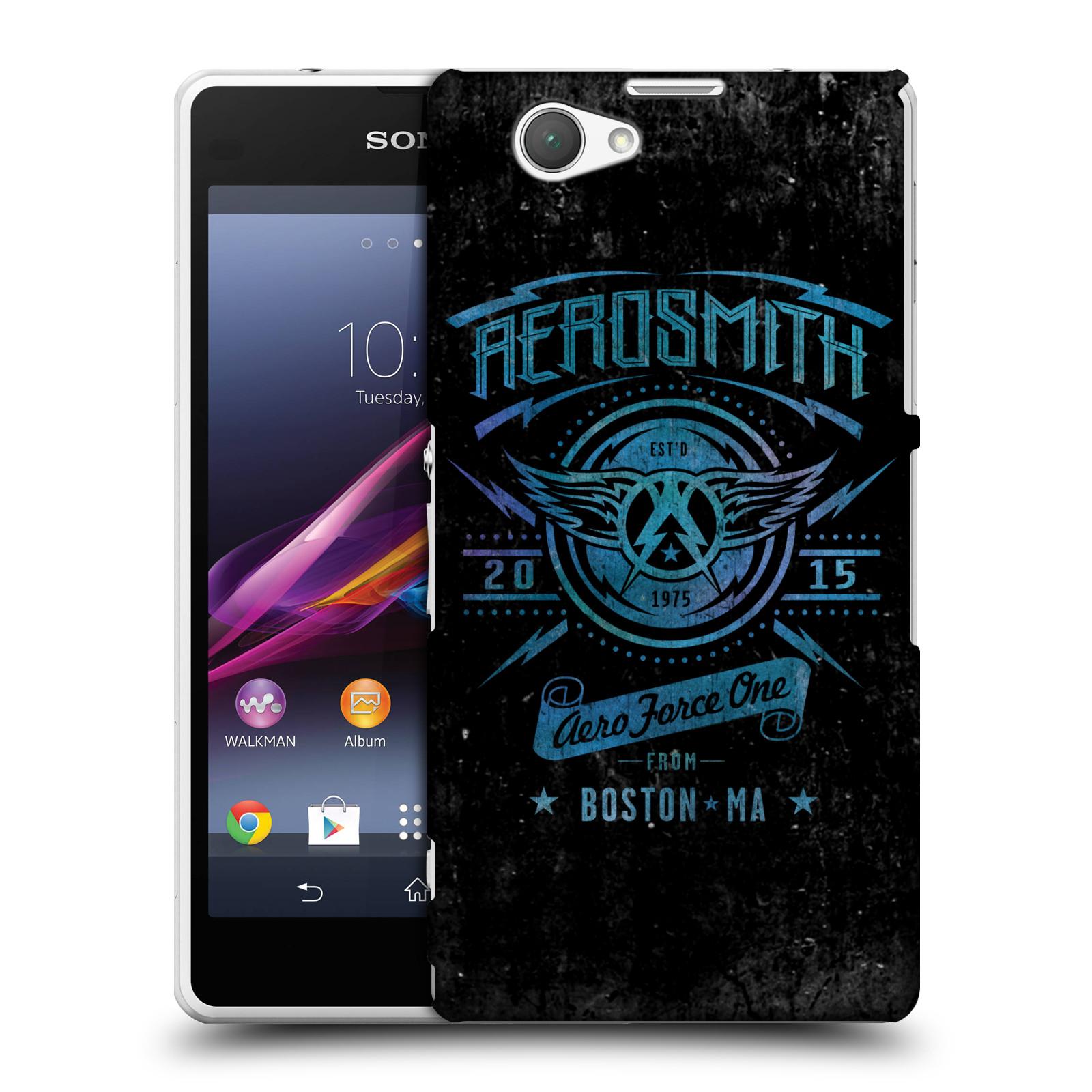 Plastové pouzdro na mobil Sony Xperia Z1 Compact D5503 HEAD CASE - Aerosmith - Aero Force One