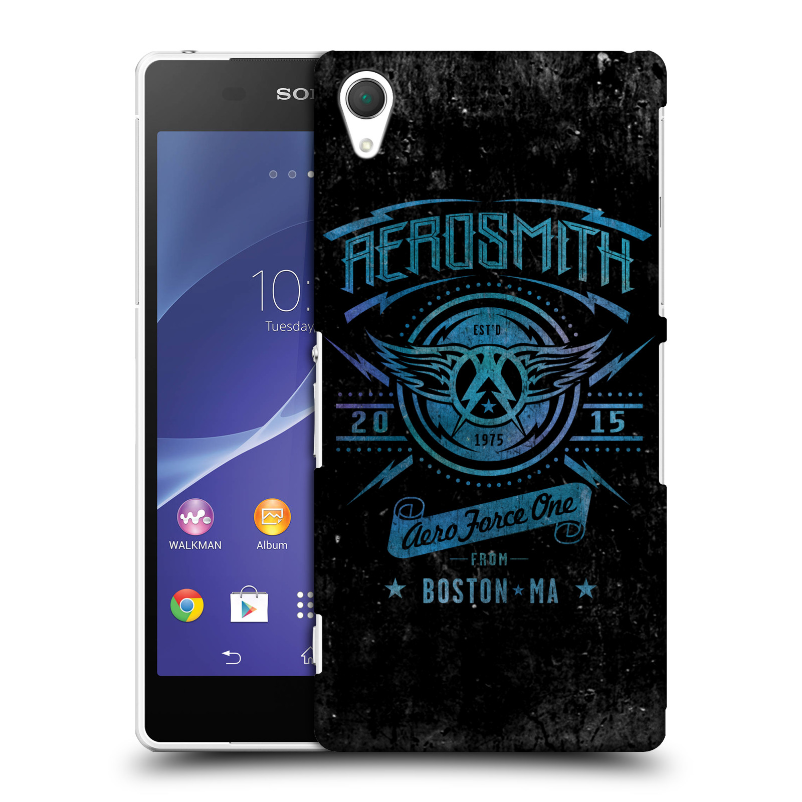 Plastové pouzdro na mobil Sony Xperia Z2 D6503 HEAD CASE - Aerosmith - Aero Force One