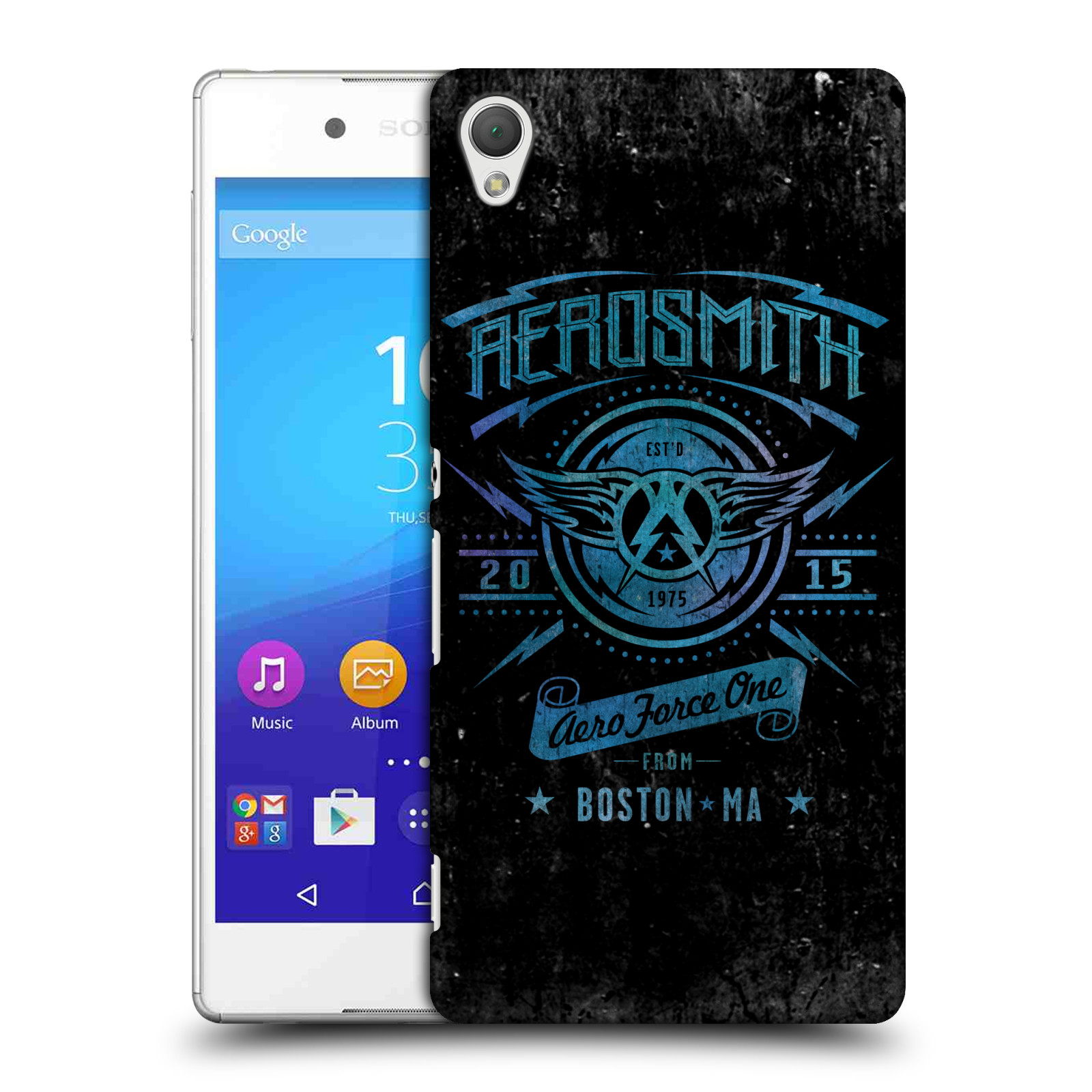 Plastové pouzdro na mobil Sony Xperia Z3+ (Plus) HEAD CASE - Aerosmith - Aero Force One