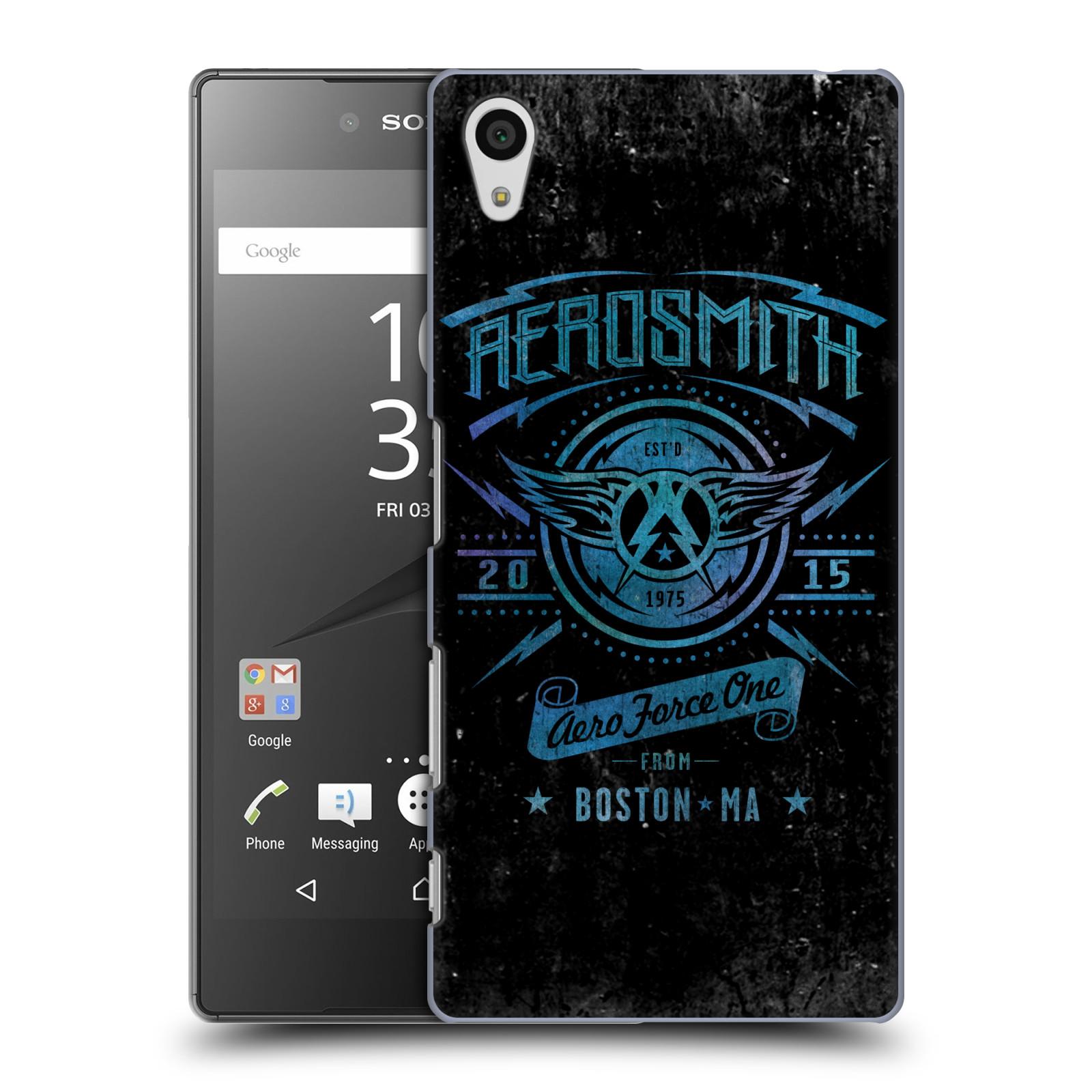 Plastové pouzdro na mobil Sony Xperia Z5 HEAD CASE - Aerosmith - Aero Force One