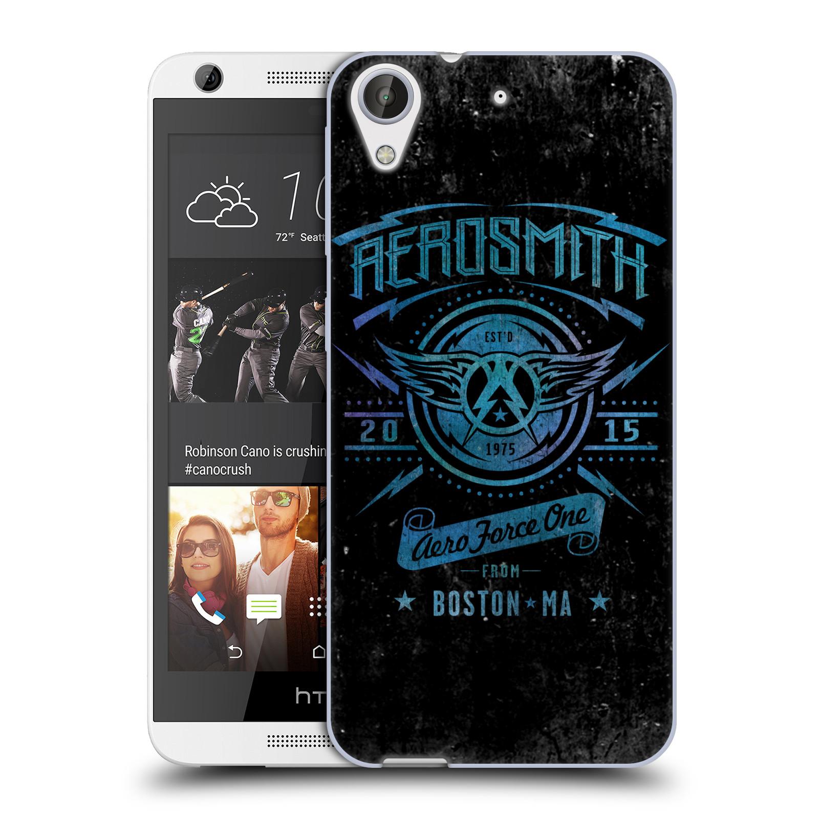Silikonové pouzdro na mobil HTC Desire 626 / 626G HEAD CASE - Aerosmith - Aero Force One (Silikonový kryt či obal na mobilní telefon s licencovaným motivem Aerosmith pro HTC Desire 626 a 626G Dual SIM)