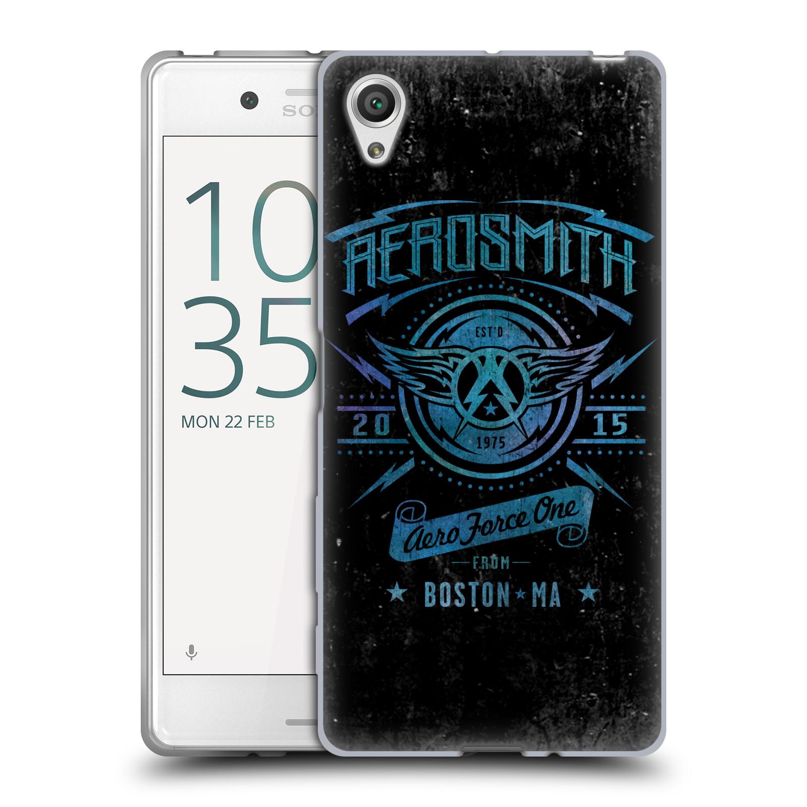 Silikonové pouzdro na mobil Sony Xperia X HEAD CASE - Aerosmith - Aero Force One