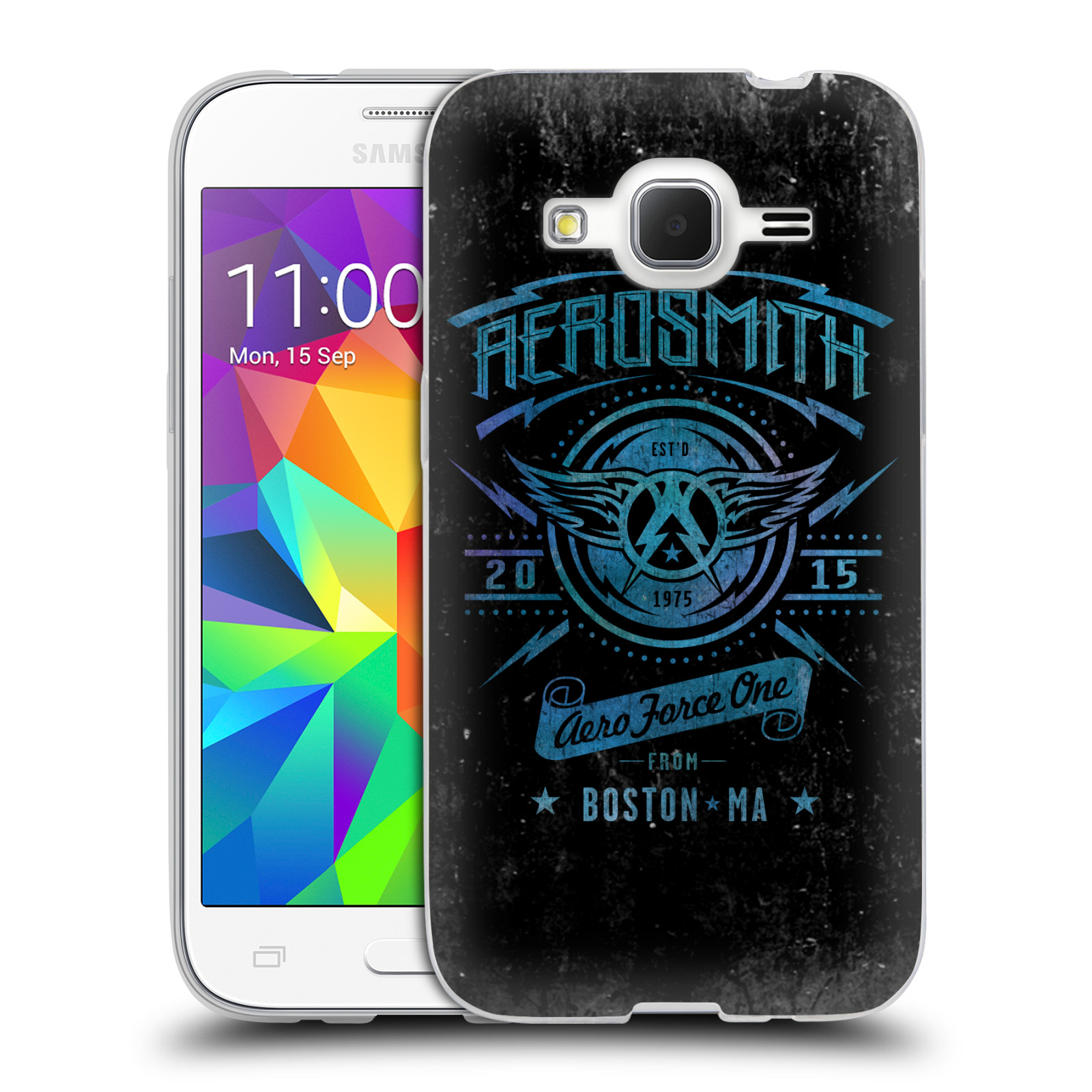 Silikonové pouzdro na mobil Samsung Galaxy Core Prime VE HEAD CASE - Aerosmith - Aero Force One