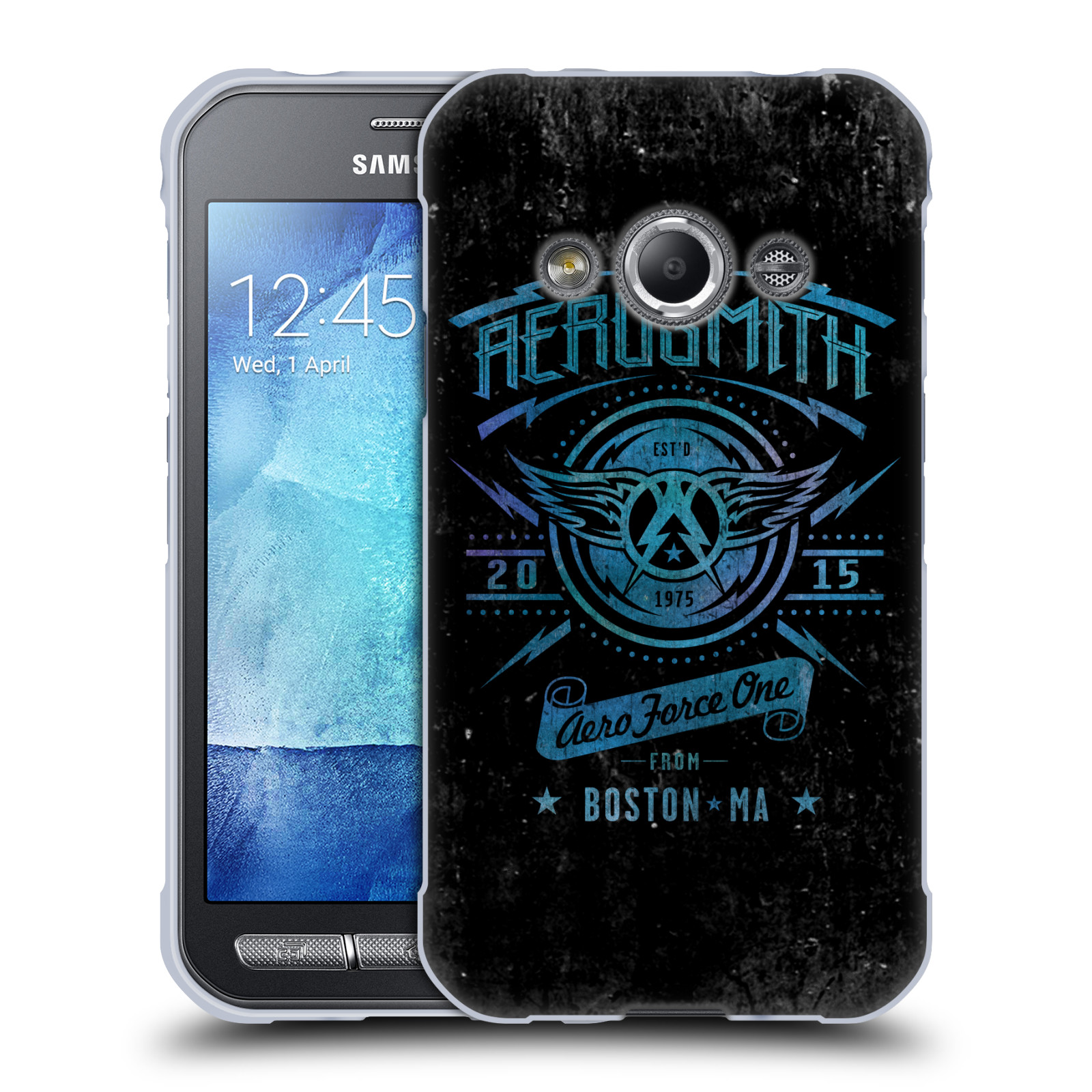 Silikonové pouzdro na mobil Samsung Galaxy Xcover 3 HEAD CASE - Aerosmith - Aero Force One