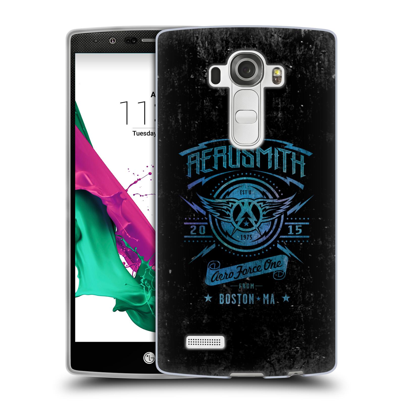 Silikonové pouzdro na mobil LG G4 HEAD CASE - Aerosmith - Aero Force One