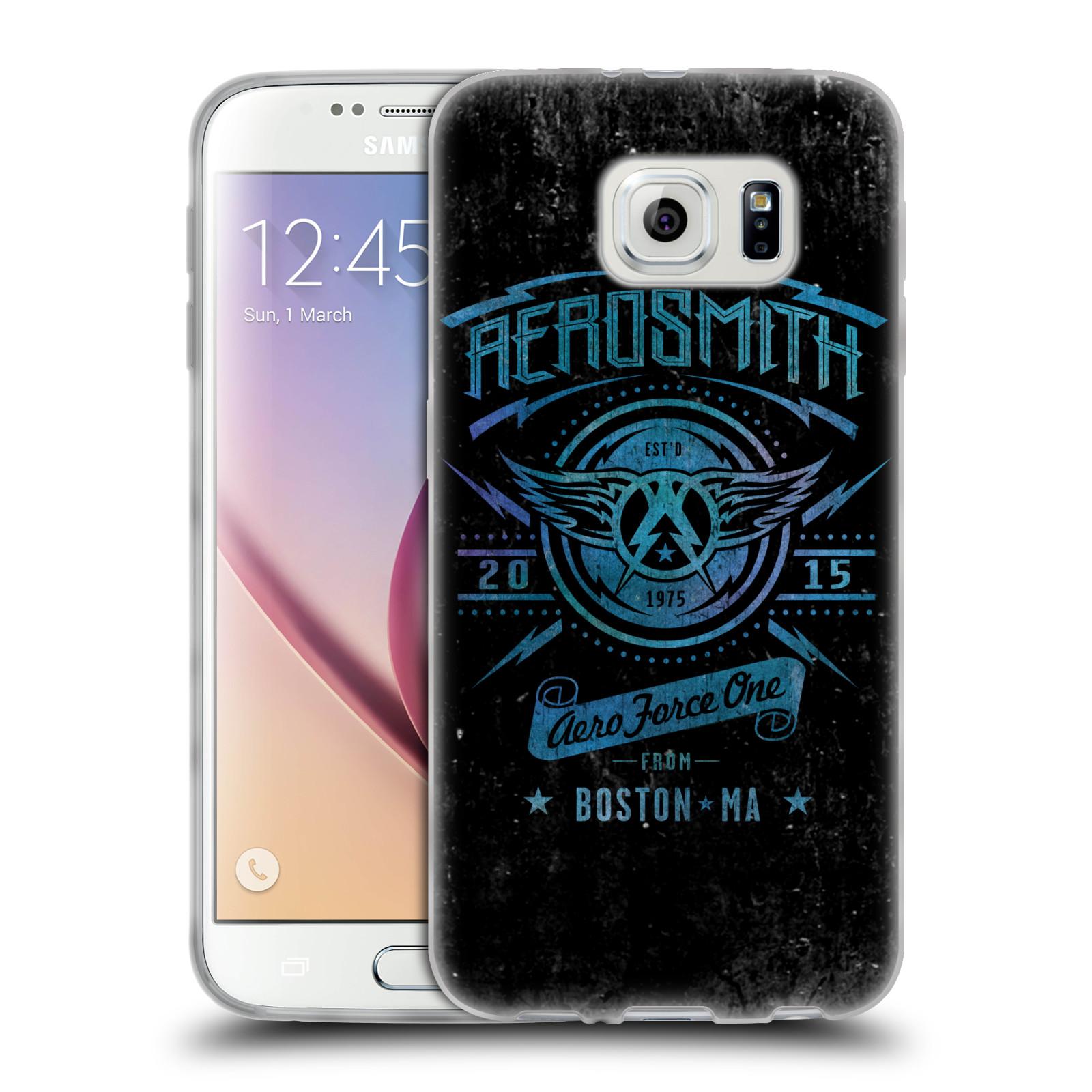 Silikonové pouzdro na mobil Samsung Galaxy S6 HEAD CASE - Aerosmith - Aero Force One