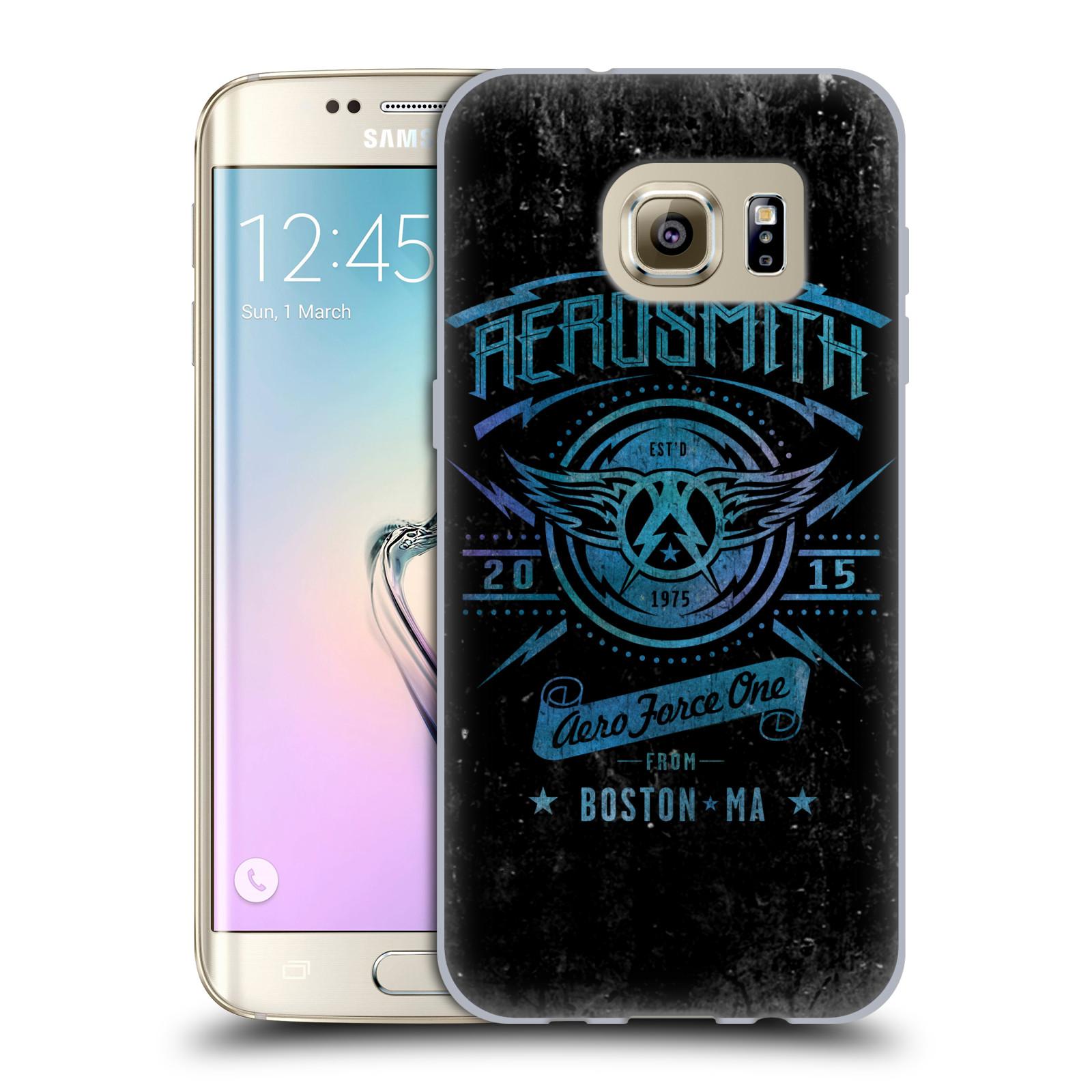 Silikonové pouzdro na mobil Samsung Galaxy S7 Edge HEAD CASE - Aerosmith - Aero Force One (Silikonový kryt či obal na mobilní telefon s licencovaným motivem Aerosmith pro Samsung Galaxy S7 Edge SM-G935F)