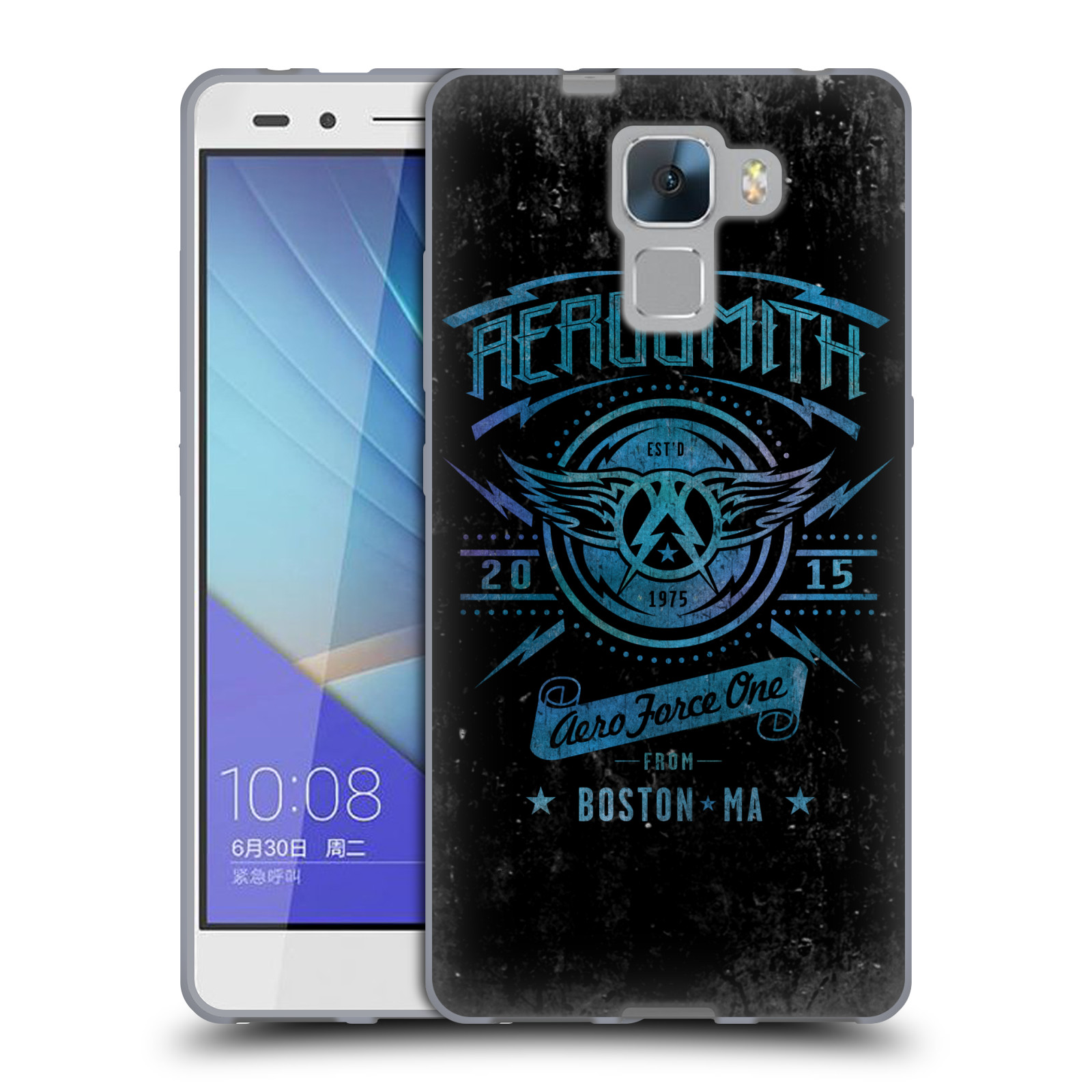 Silikonové pouzdro na mobil Honor 7 HEAD CASE - Aerosmith - Aero Force One