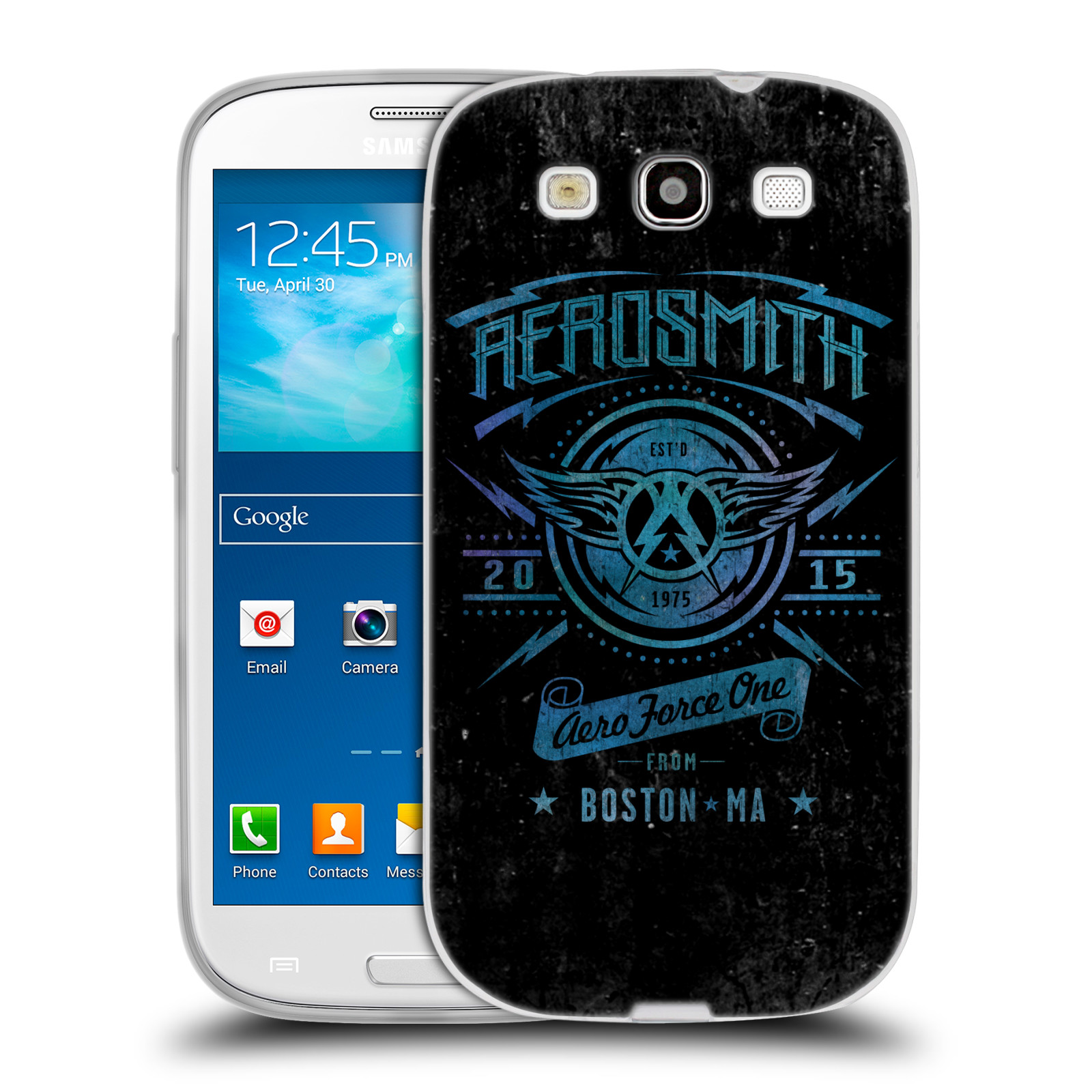 Silikonové pouzdro na mobil Samsung Galaxy S3 Neo HEAD CASE - Aerosmith - Aero Force One