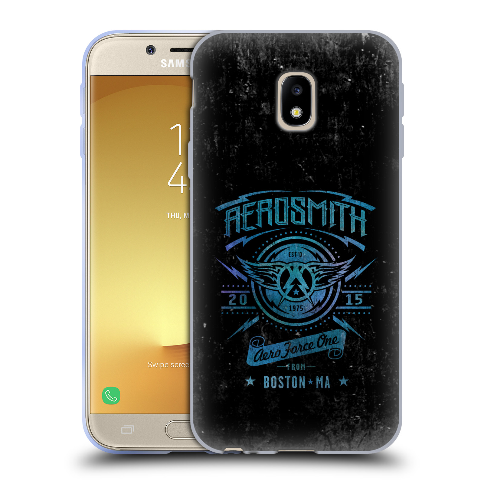 Silikonové pouzdro na mobil Samsung Galaxy J3 (2017) - Head Case - Aerosmith - Aero Force One