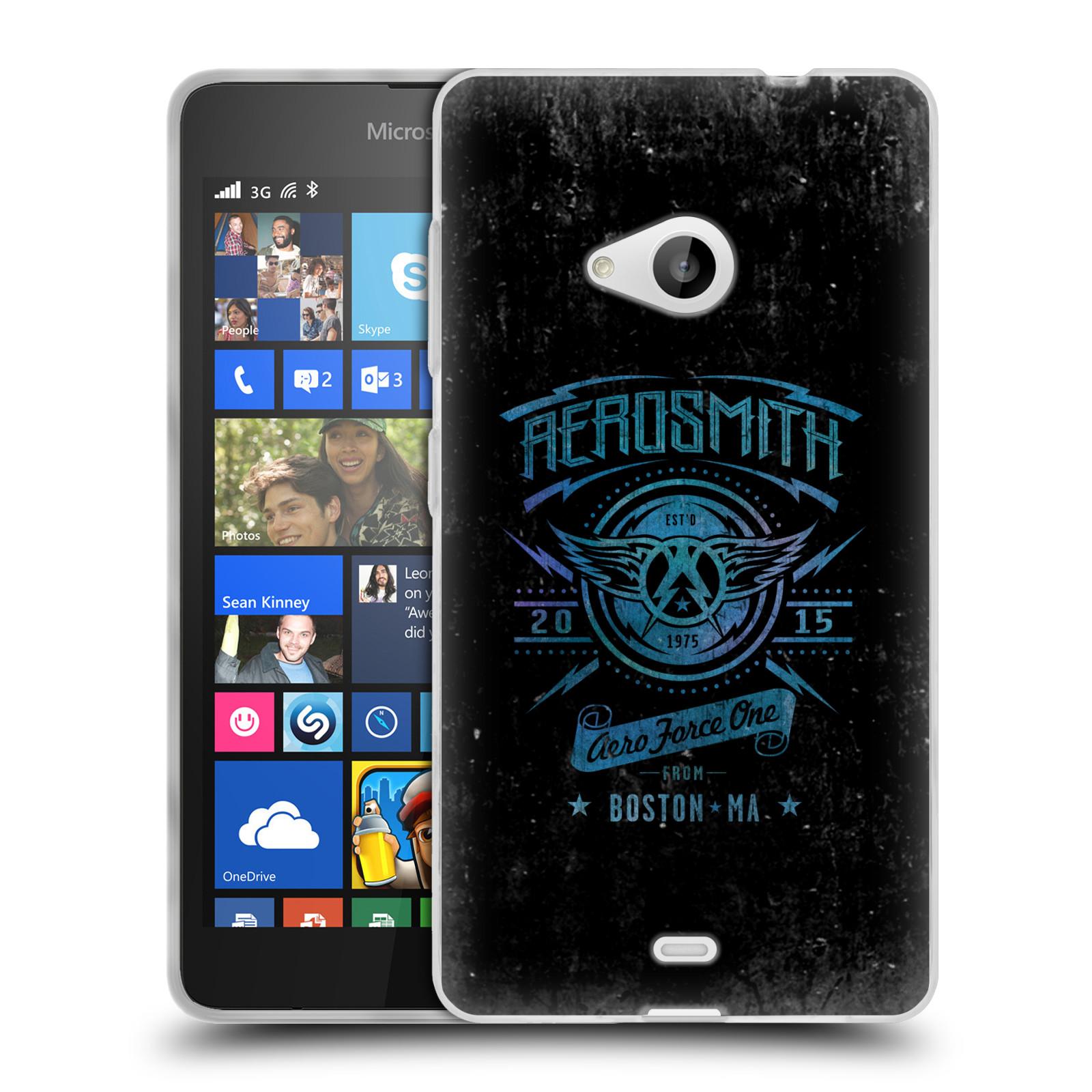 Silikonové pouzdro na mobil Microsoft Lumia 535 HEAD CASE - Aerosmith - Aero Force One