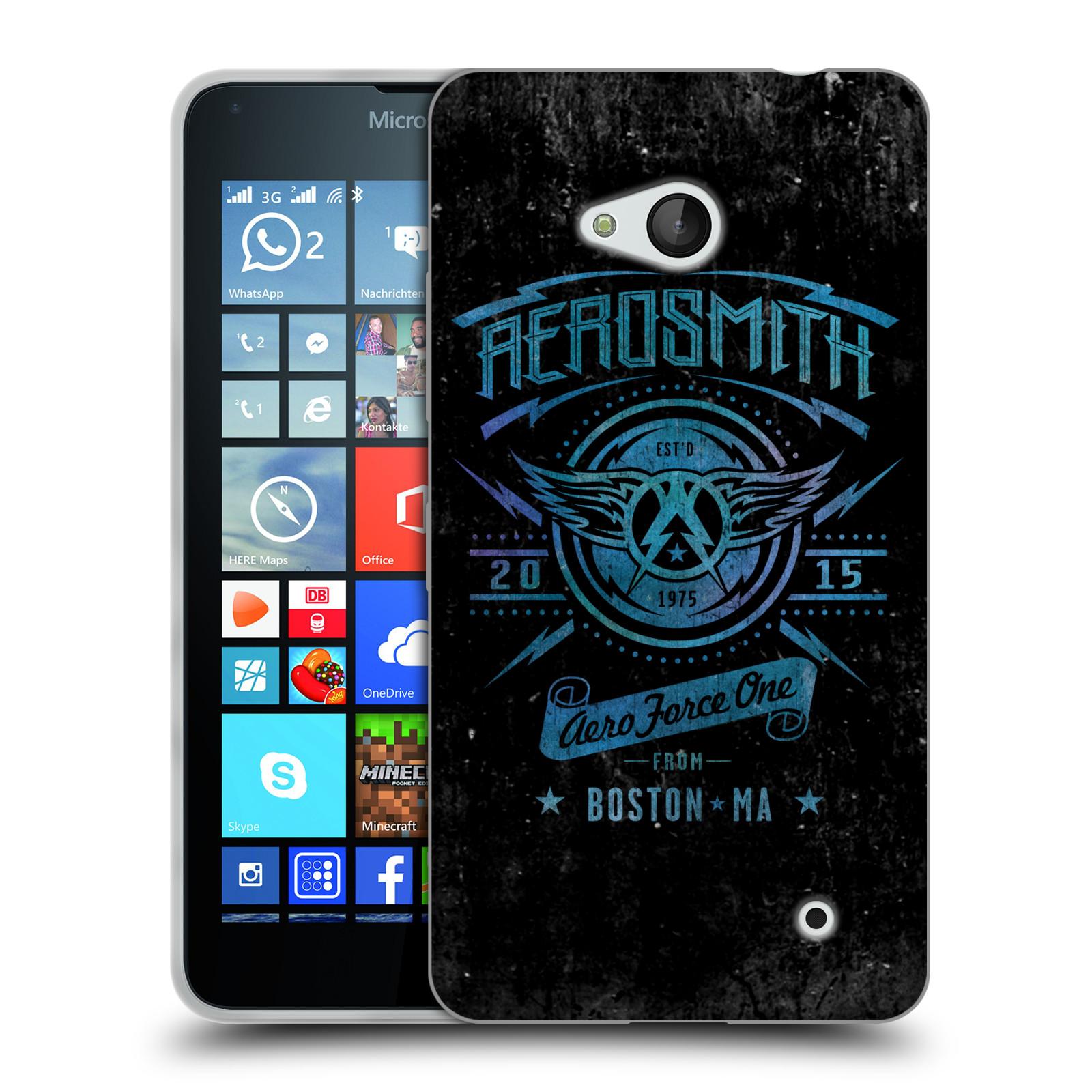 Silikonové pouzdro na mobil Microsoft Lumia 640 HEAD CASE - Aerosmith - Aero Force One