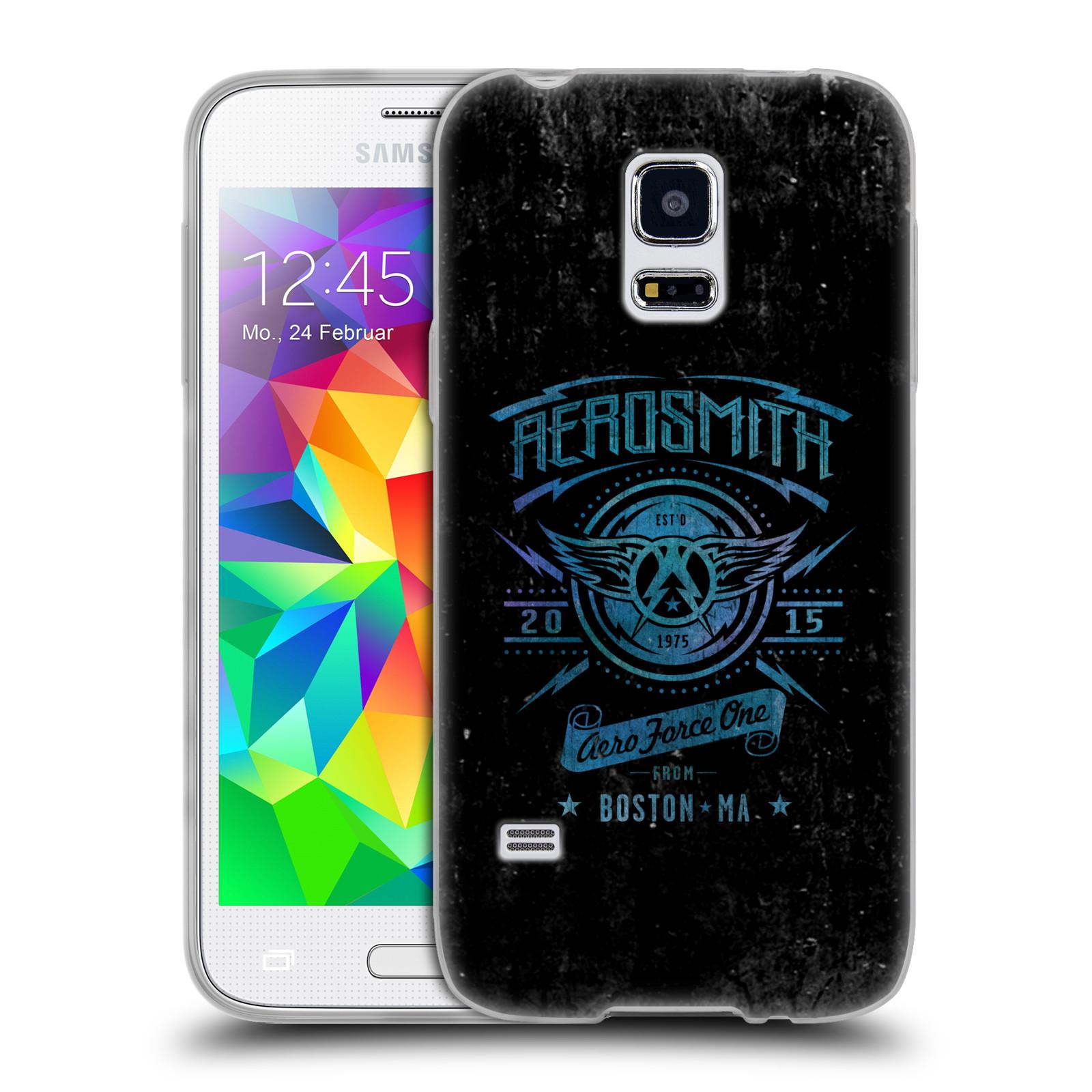 Silikonové pouzdro na mobil Samsung Galaxy S5 Mini HEAD CASE - Aerosmith - Aero Force One