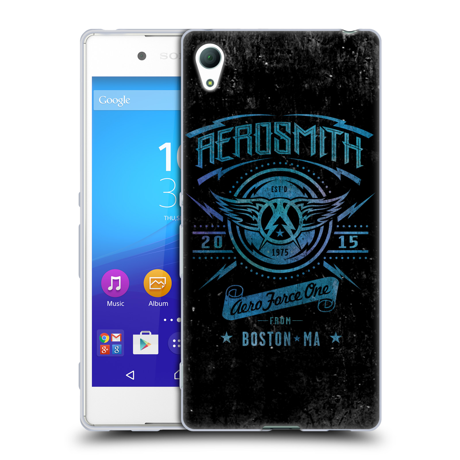 Silikonové pouzdro na mobil Sony Xperia Z3+ (Plus) HEAD CASE - Aerosmith - Aero Force One