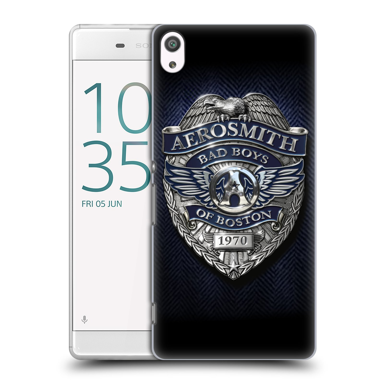 Plastové pouzdro na mobil Sony Xperia XA Ultra HEAD CASE - Aerosmith - Bad Boys of Boston