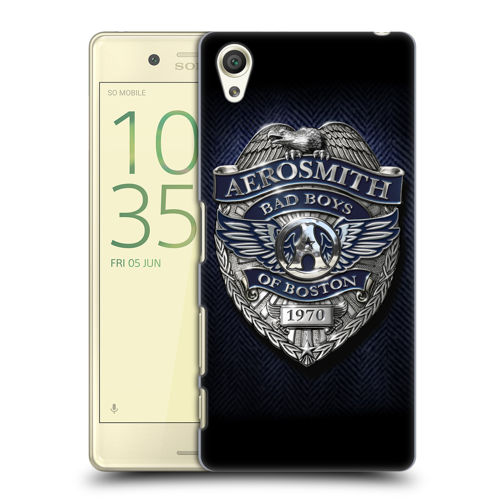 Plastové pouzdro na mobil Sony Xperia X HEAD CASE - Aerosmith - Bad Boys of Boston