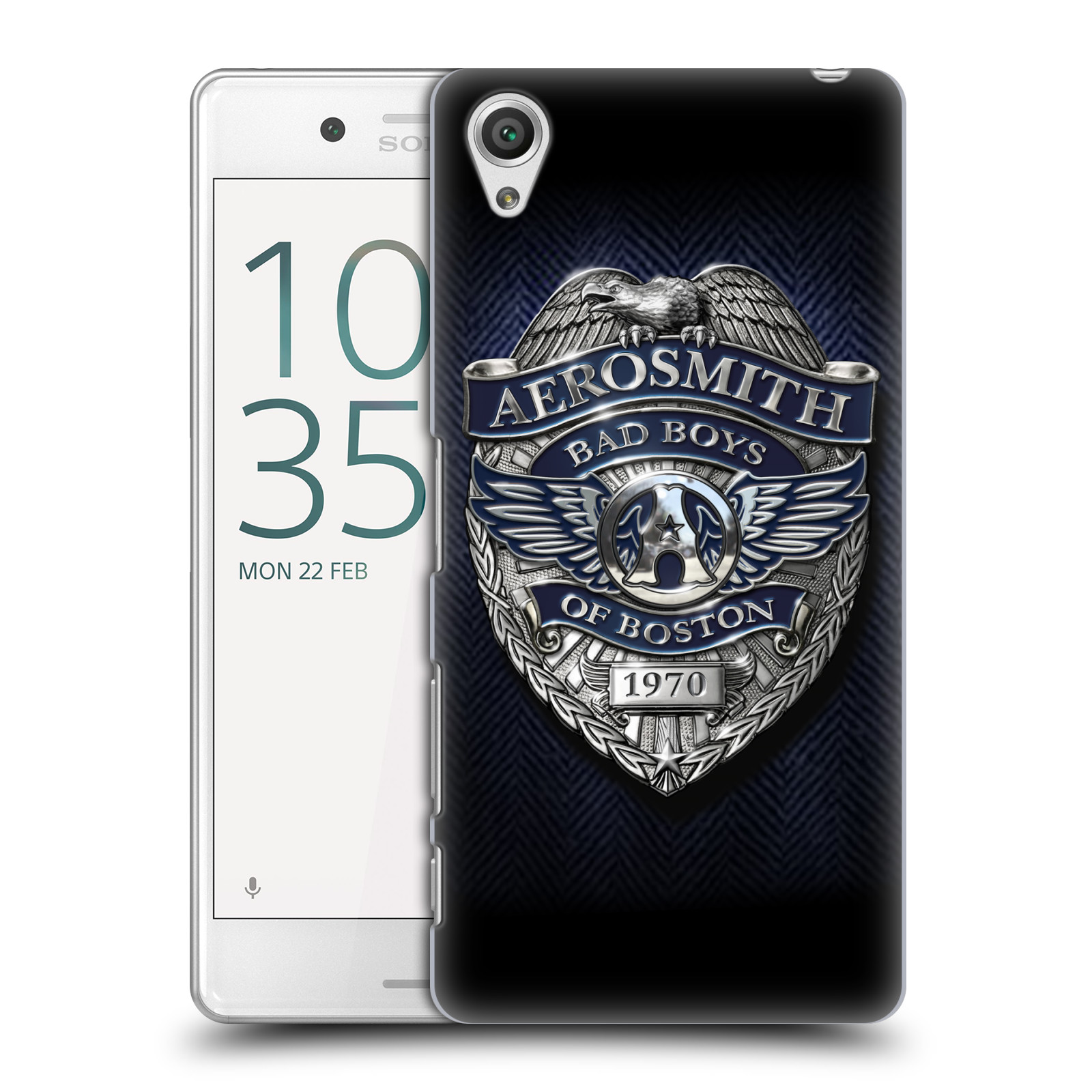 Plastové pouzdro na mobil Sony Xperia X Performance HEAD CASE - Aerosmith - Bad Boys of Boston