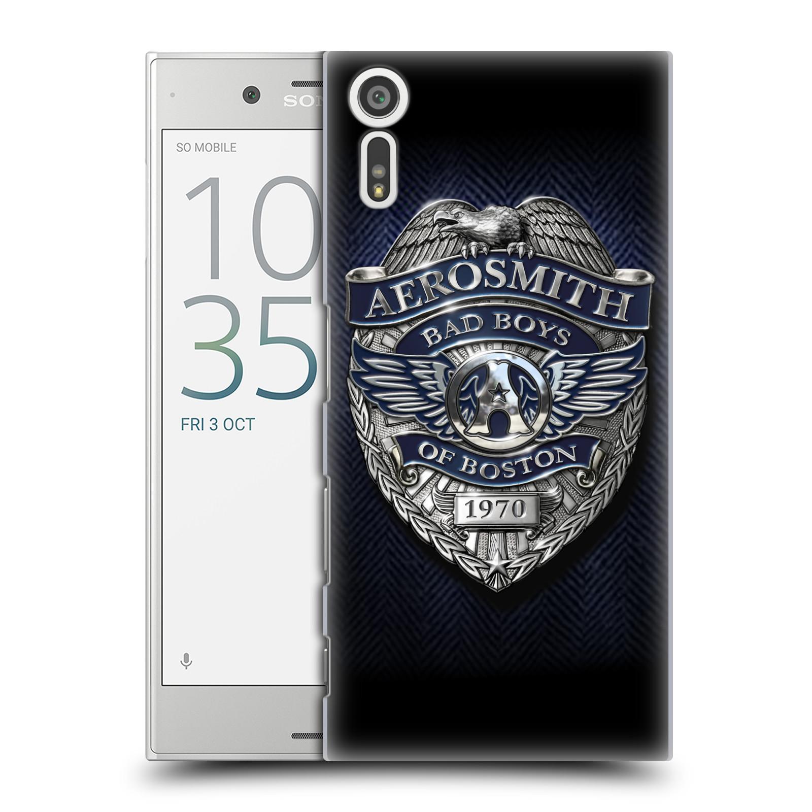 Plastové pouzdro na mobil Sony Xperia XZ - Head Case - Aerosmith - Bad Boys of Boston