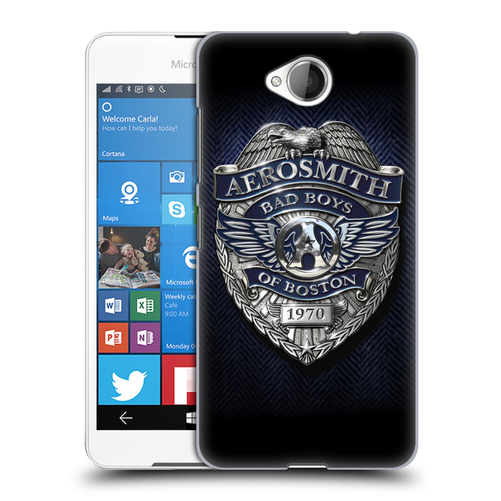 Plastové pouzdro na mobil Microsoft Lumia 650 HEAD CASE - Aerosmith - Bad Boys of Boston