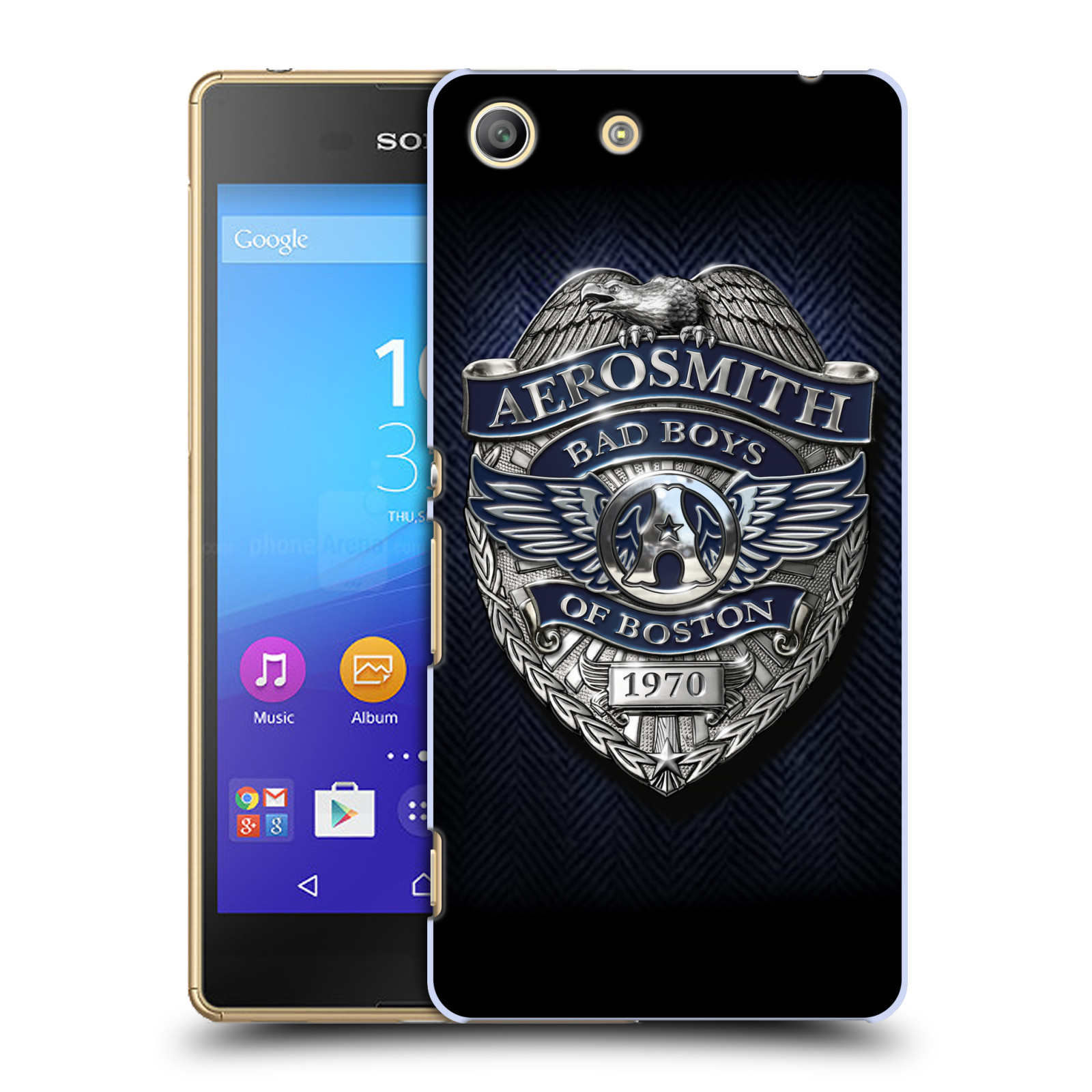 Plastové pouzdro na mobil Sony Xperia M5 HEAD CASE - Aerosmith - Bad Boys of Boston