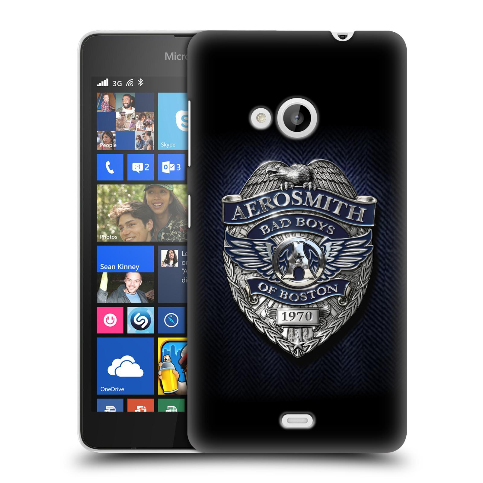 Plastové pouzdro na mobil Microsoft Lumia 535 HEAD CASE - Aerosmith - Bad Boys of Boston