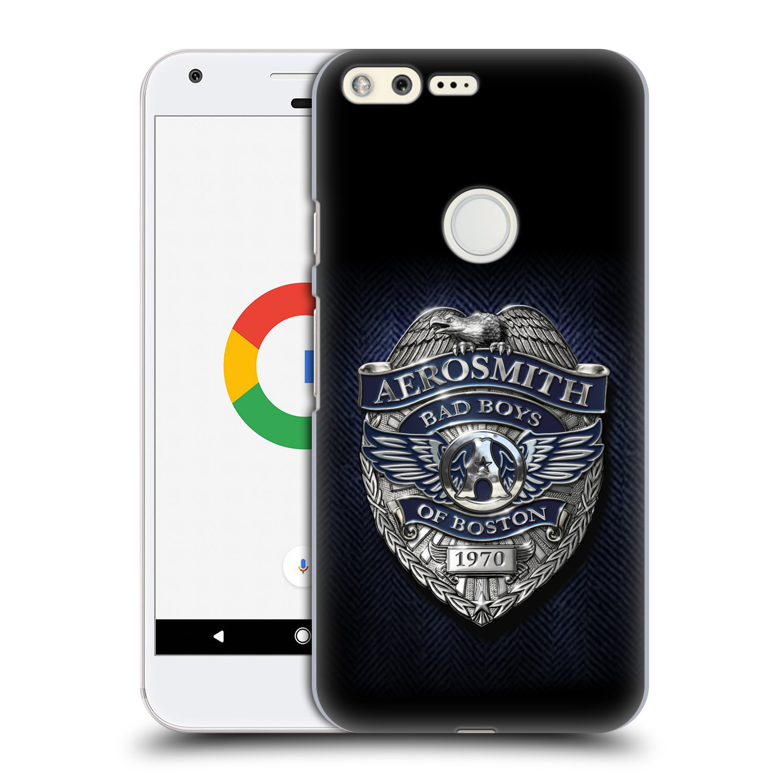 Plastové pouzdro na mobil Google Pixel HEAD CASE - Aerosmith - Bad Boys of Boston