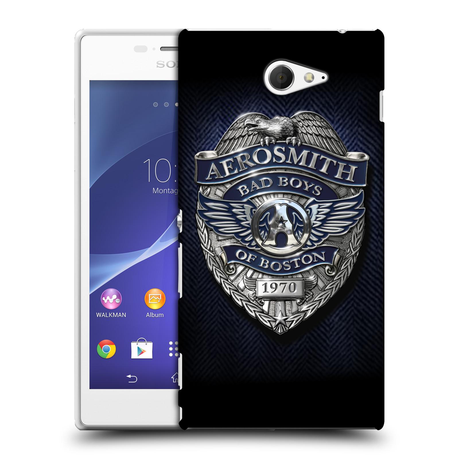 Plastové pouzdro na mobil Sony Xperia M2 D2303 HEAD CASE - Aerosmith - Bad Boys of Boston