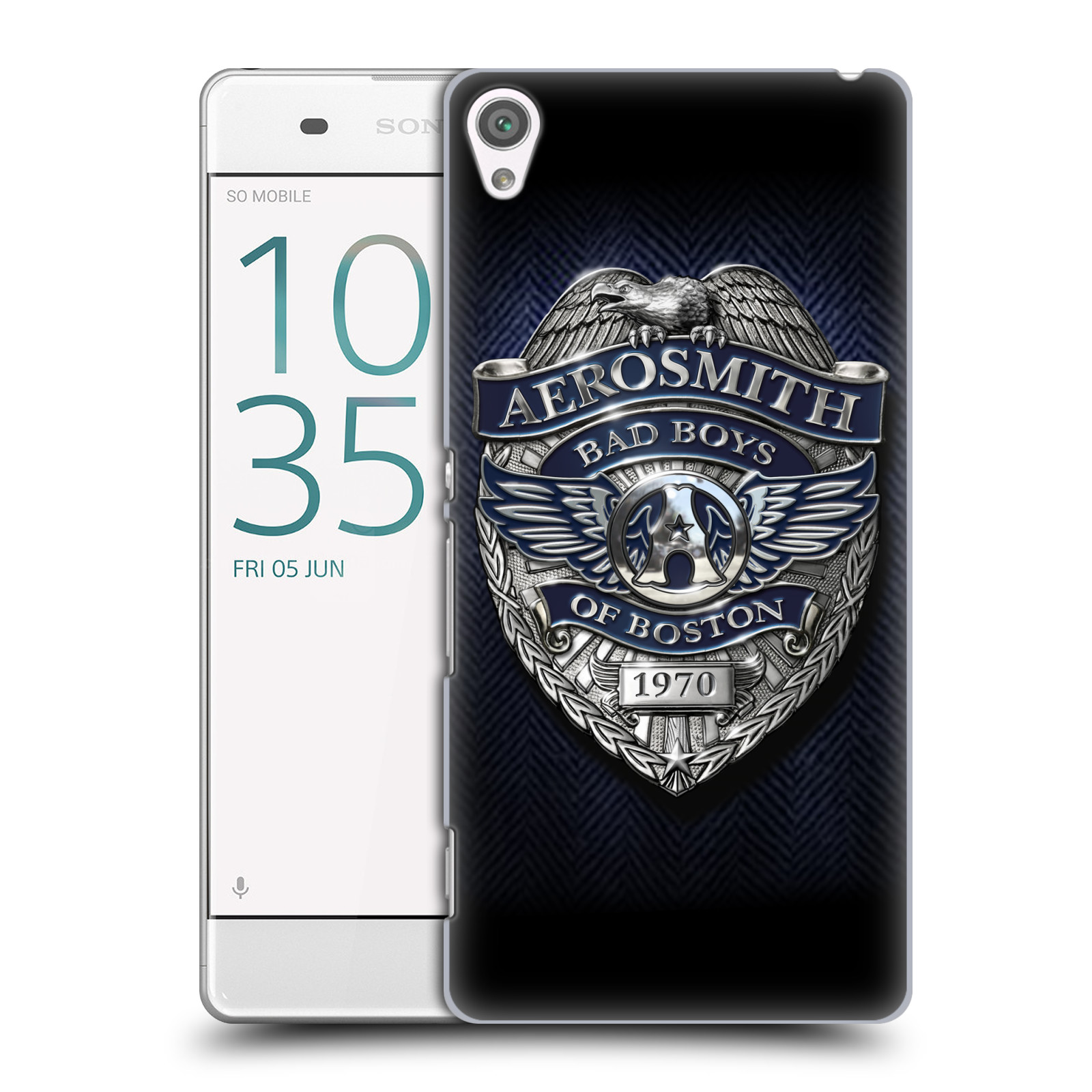 Plastové pouzdro na mobil Sony Xperia XA HEAD CASE - Aerosmith - Bad Boys of Boston