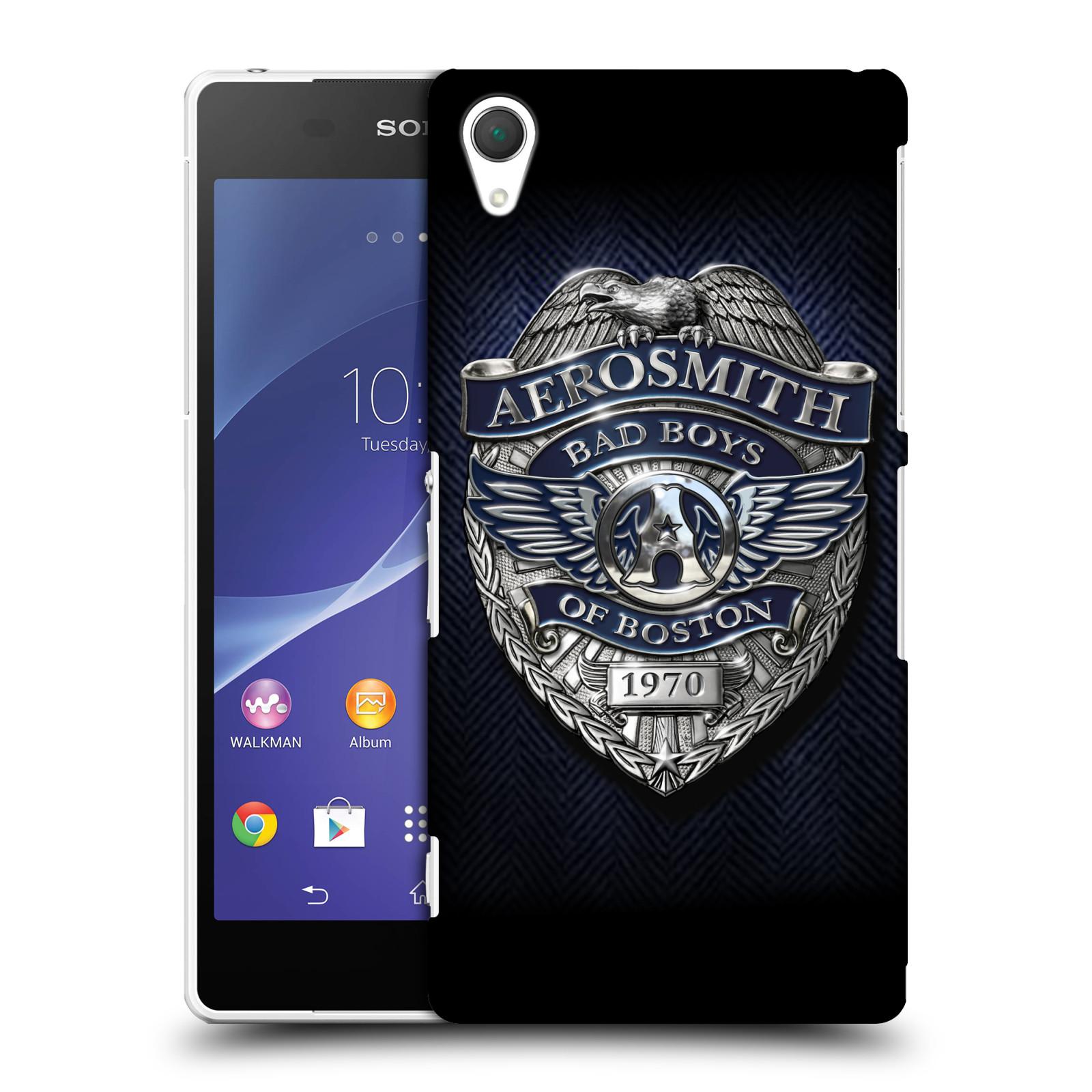 Plastové pouzdro na mobil Sony Xperia Z2 D6503 HEAD CASE - Aerosmith - Bad Boys of Boston