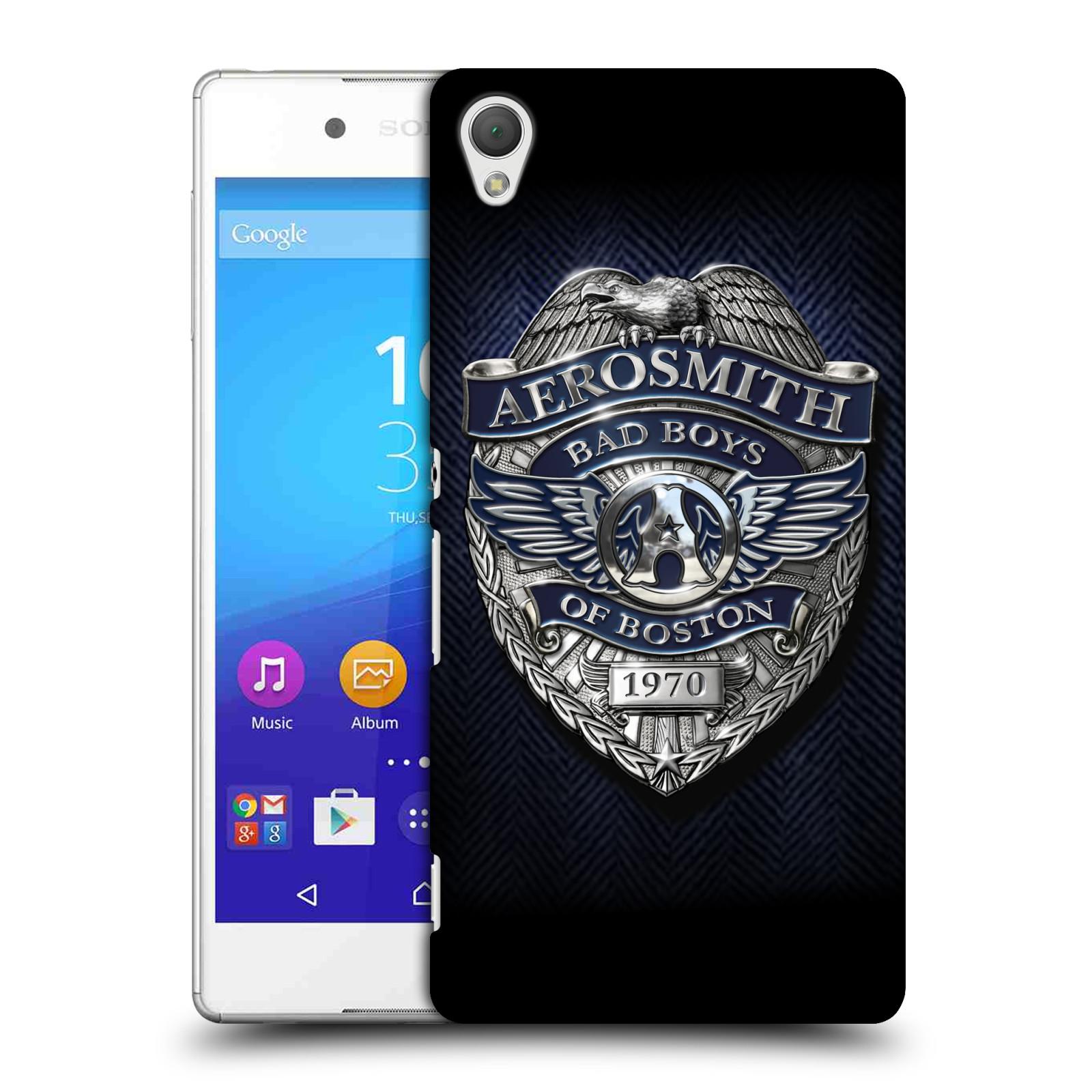 Plastové pouzdro na mobil Sony Xperia Z3+ (Plus) HEAD CASE - Aerosmith - Bad Boys of Boston