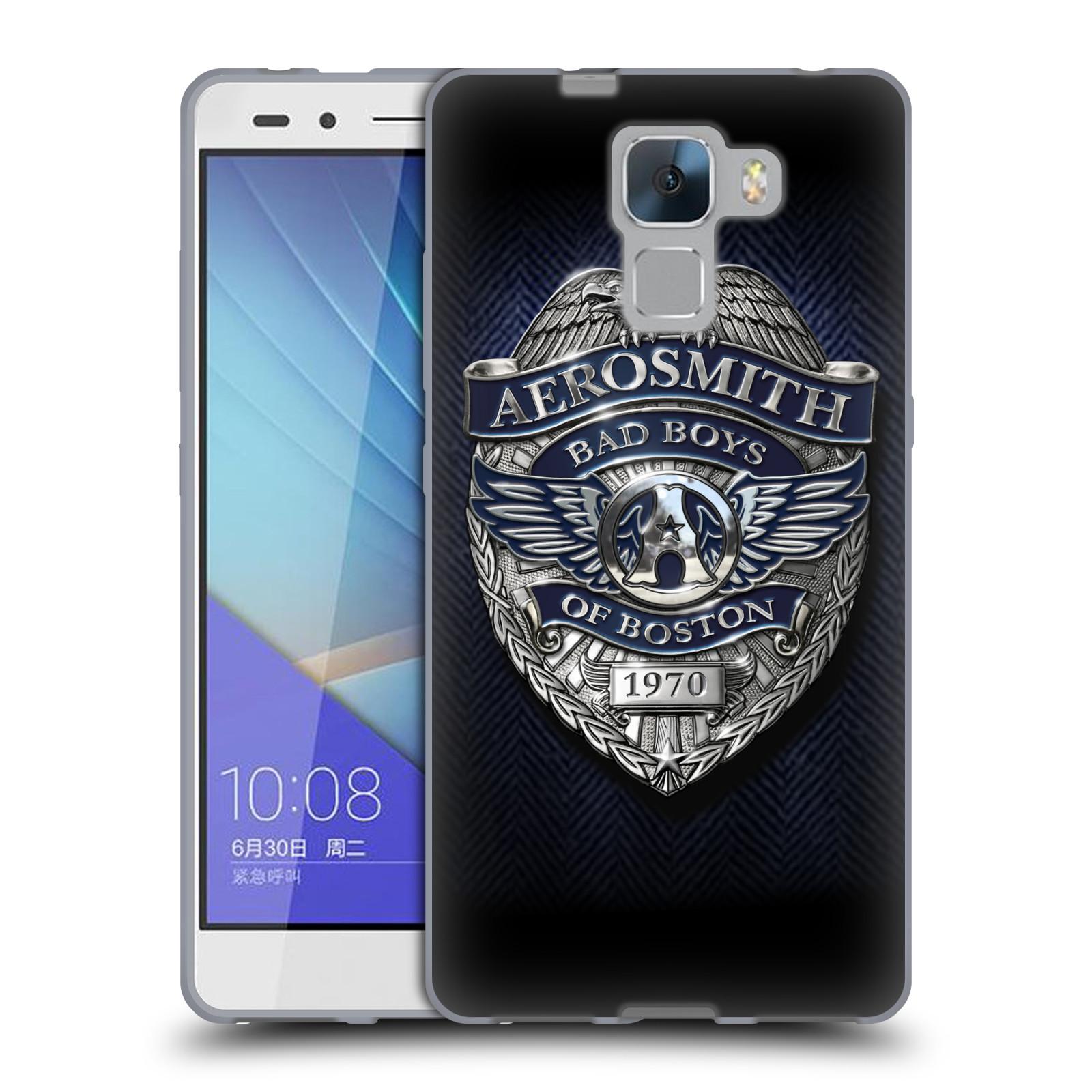 Silikonové pouzdro na mobil Honor 7 HEAD CASE - Aerosmith - Bad Boys of Boston