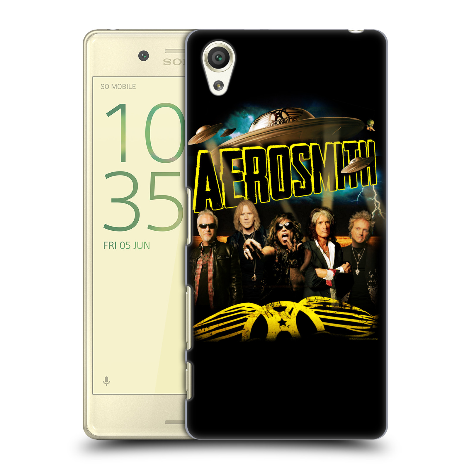 Plastové pouzdro na mobil Sony Xperia X HEAD CASE - Aerosmith - Global Warming
