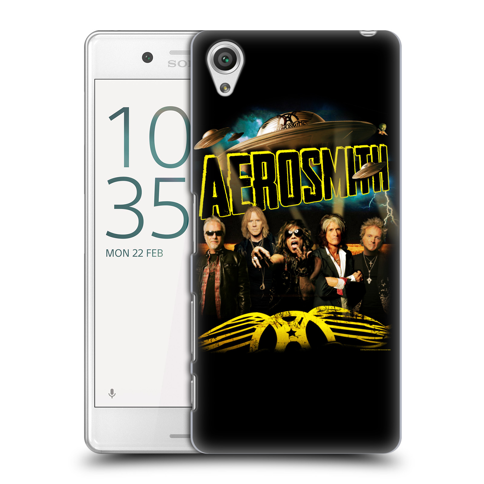 Plastové pouzdro na mobil Sony Xperia X Performance HEAD CASE - Aerosmith - Global Warming