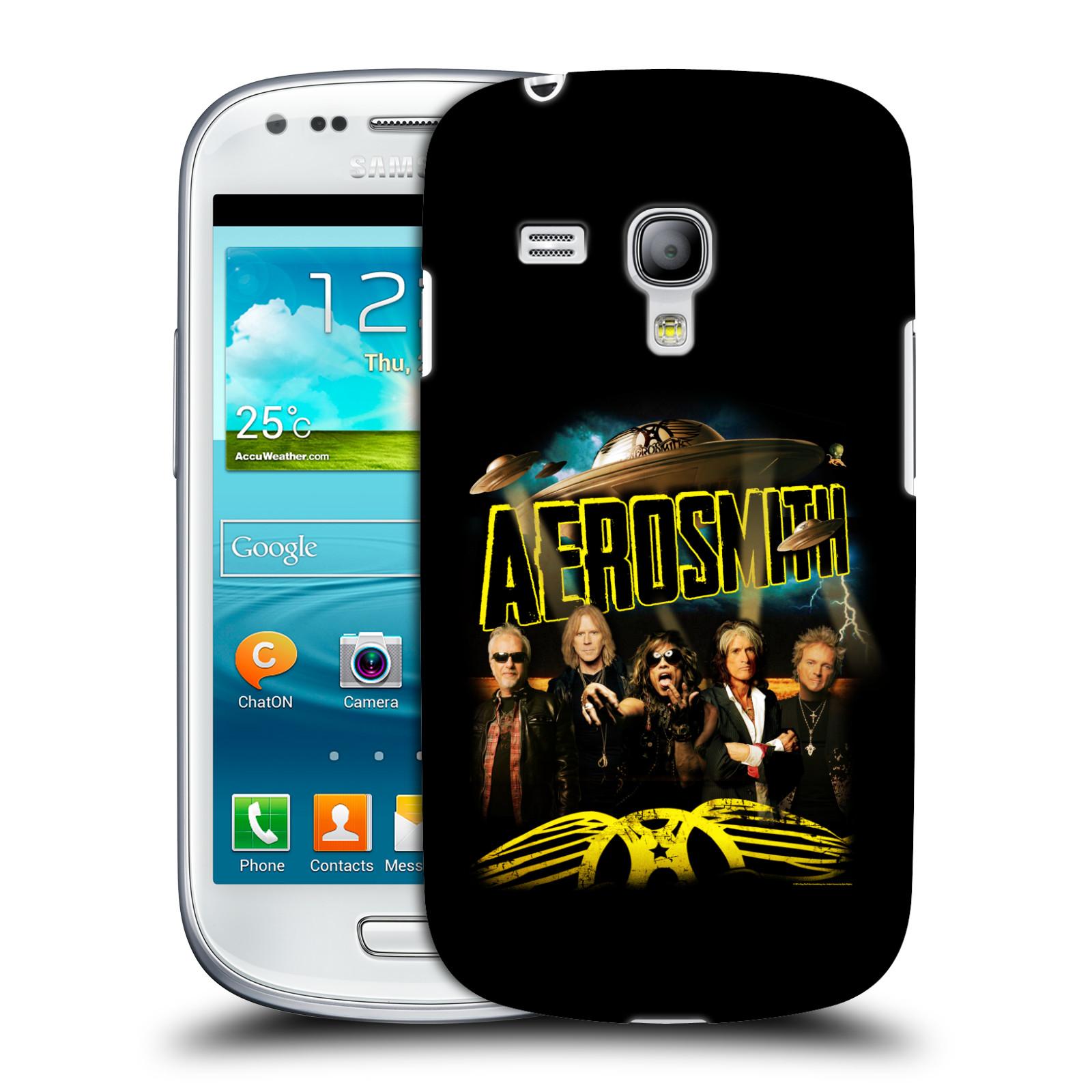 Silikonové pouzdro na mobil Samsung Galaxy S III Mini VE HEAD CASE - Aerosmith - Global Warming (Plastový kryt či obal na mobilní telefon s licencovaným motivem Aerosmith pro Samsung Galaxy S3 Mini VE GT-i8200)