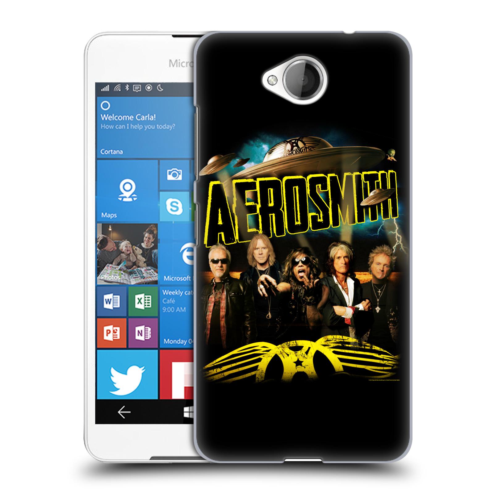 Plastové pouzdro na mobil Microsoft Lumia 650 HEAD CASE - Aerosmith - Global Warming