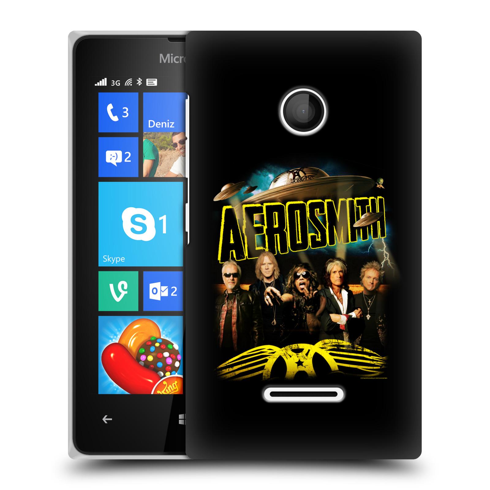 Plastové pouzdro na mobil Microsoft Lumia 435 HEAD CASE - Aerosmith - Global Warming