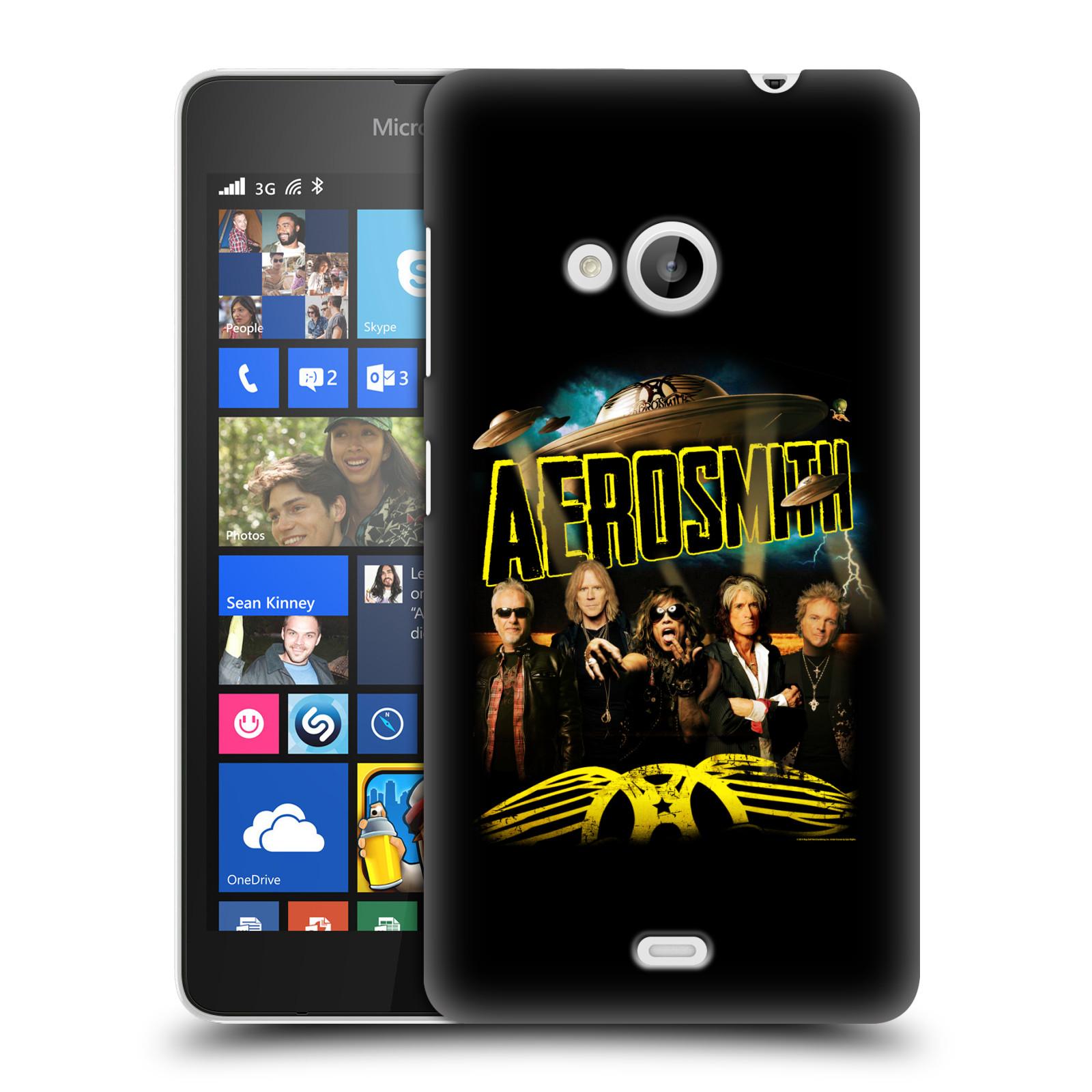 Plastové pouzdro na mobil Microsoft Lumia 535 HEAD CASE - Aerosmith - Global Warming