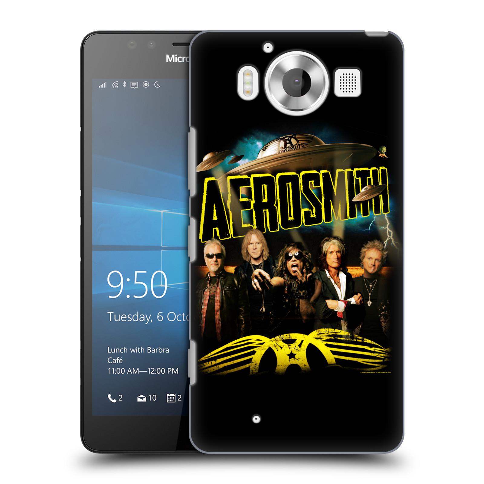 Plastové pouzdro na mobil Microsoft Lumia 950 HEAD CASE - Aerosmith - Global Warming