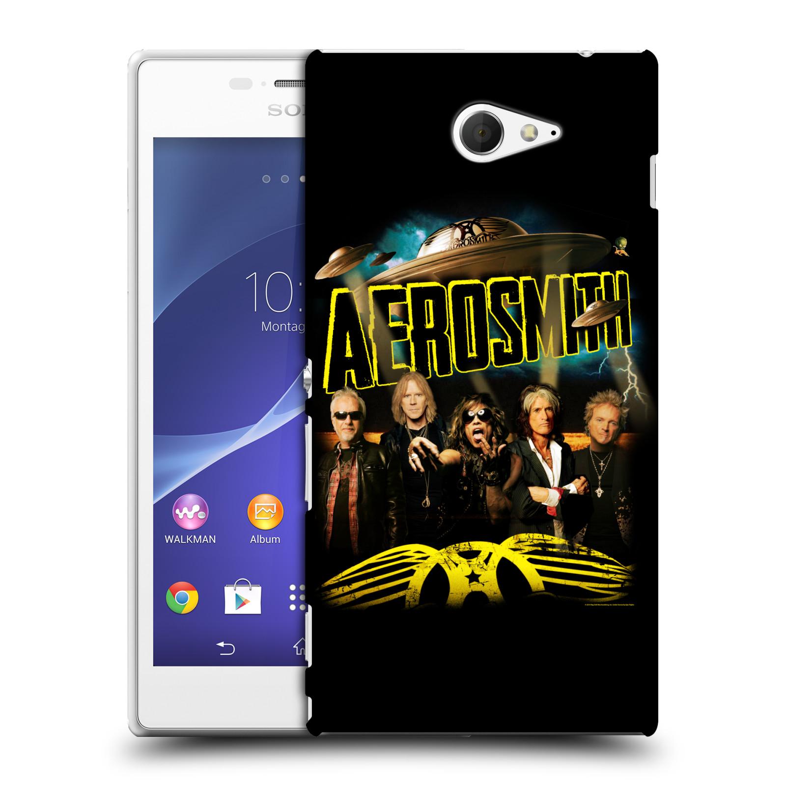 Plastové pouzdro na mobil Sony Xperia M2 D2303 HEAD CASE - Aerosmith - Global Warming