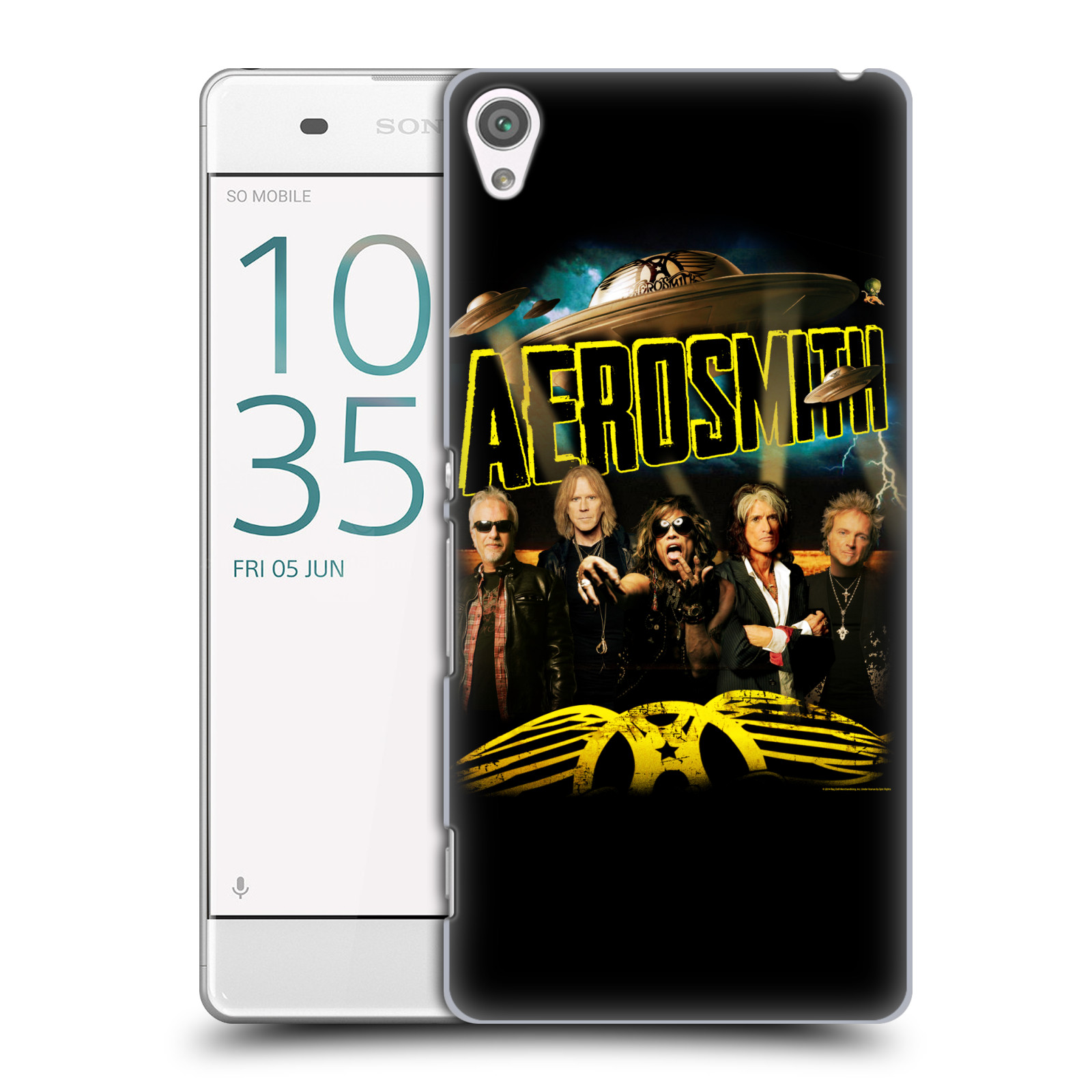 Plastové pouzdro na mobil Sony Xperia XA HEAD CASE - Aerosmith - Global Warming