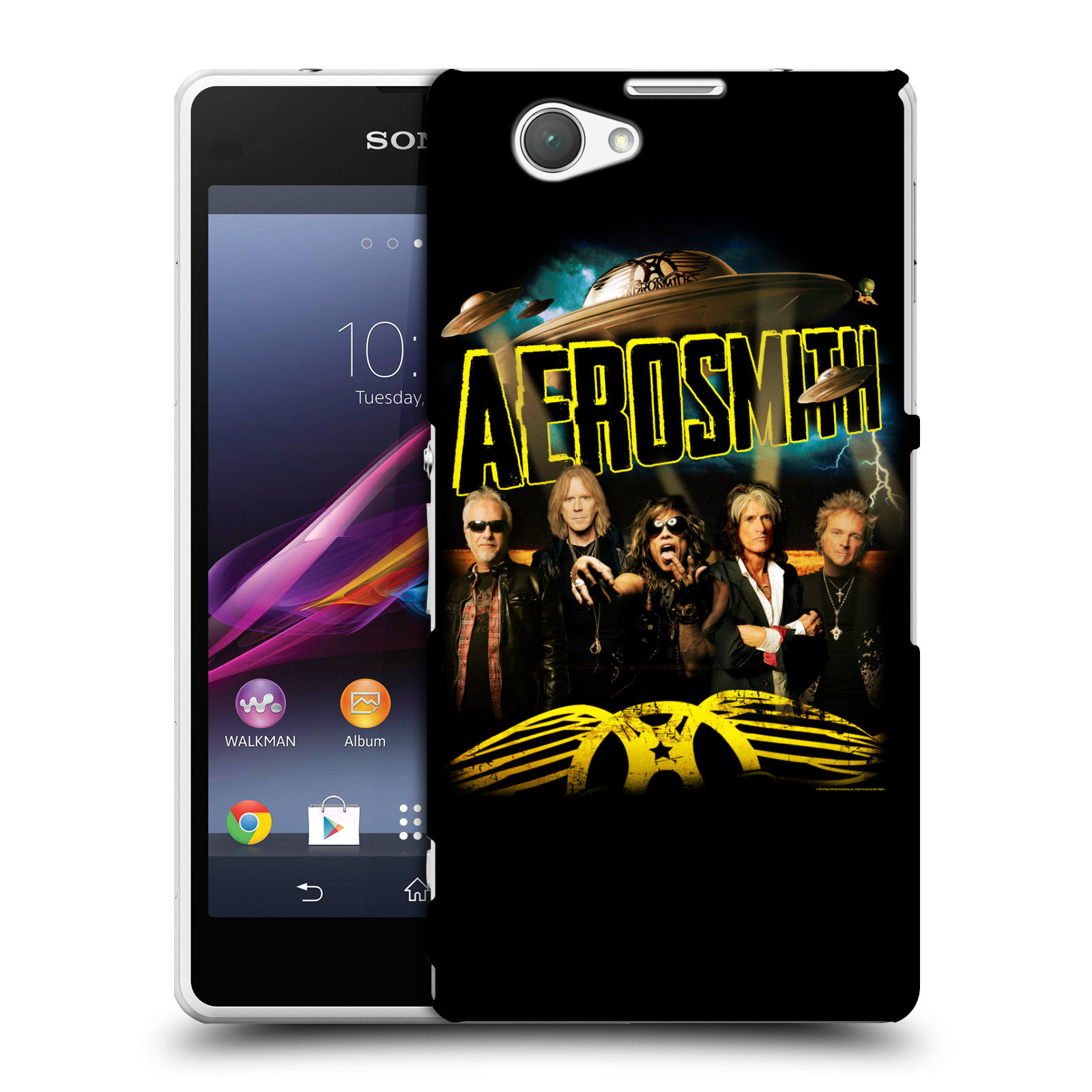 Plastové pouzdro na mobil Sony Xperia Z1 Compact D5503 HEAD CASE - Aerosmith - Global Warming