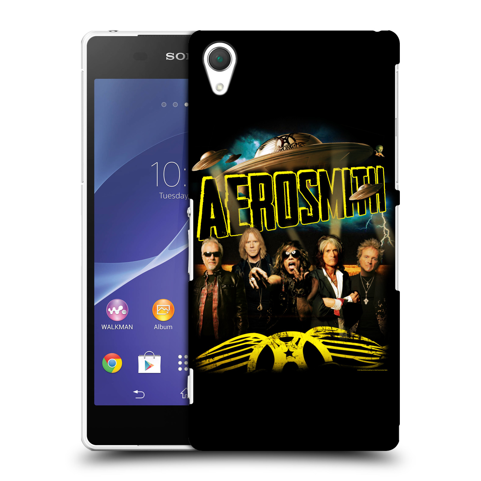 Plastové pouzdro na mobil Sony Xperia Z2 D6503 HEAD CASE - Aerosmith - Global Warming