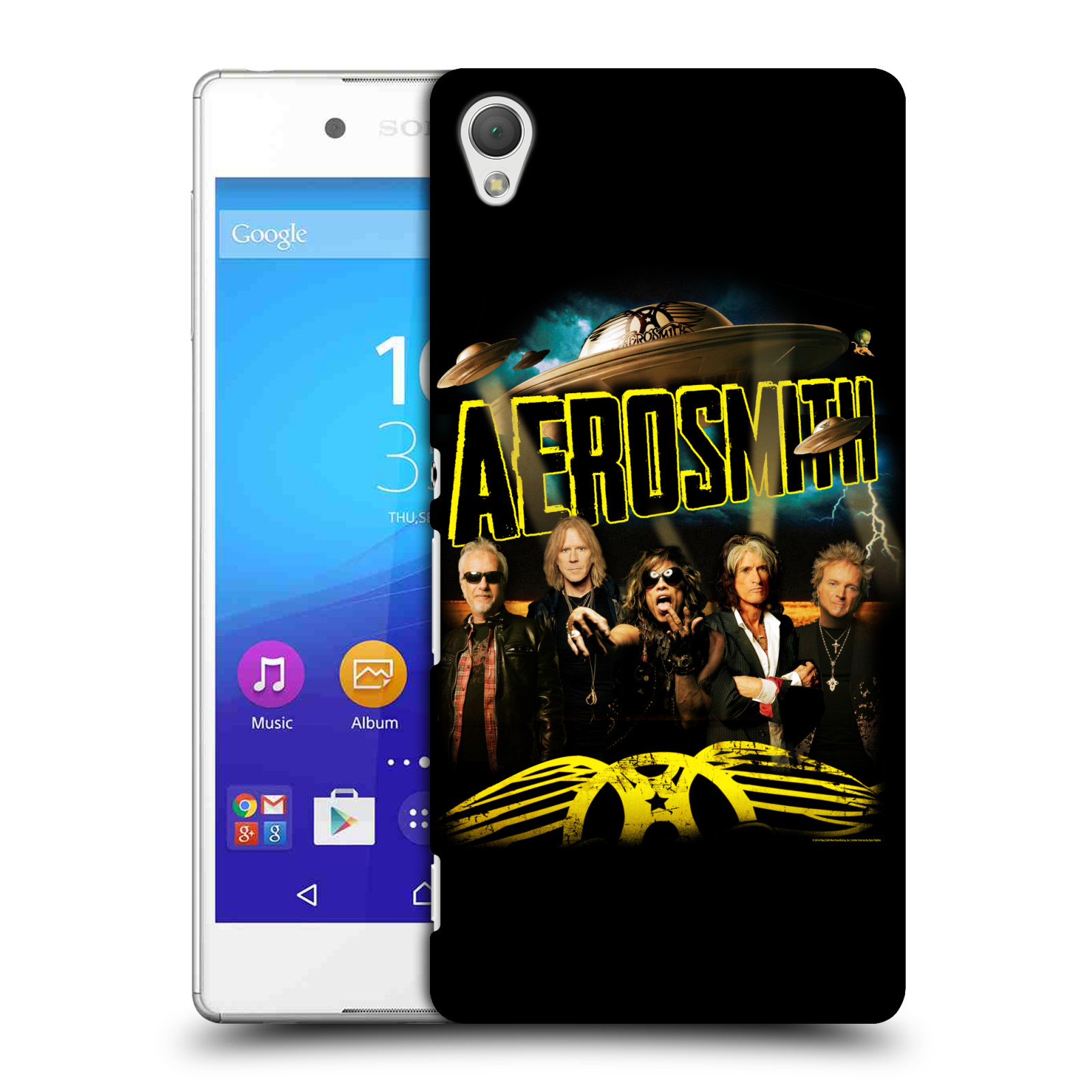 Plastové pouzdro na mobil Sony Xperia Z3+ (Plus) HEAD CASE - Aerosmith - Global Warming