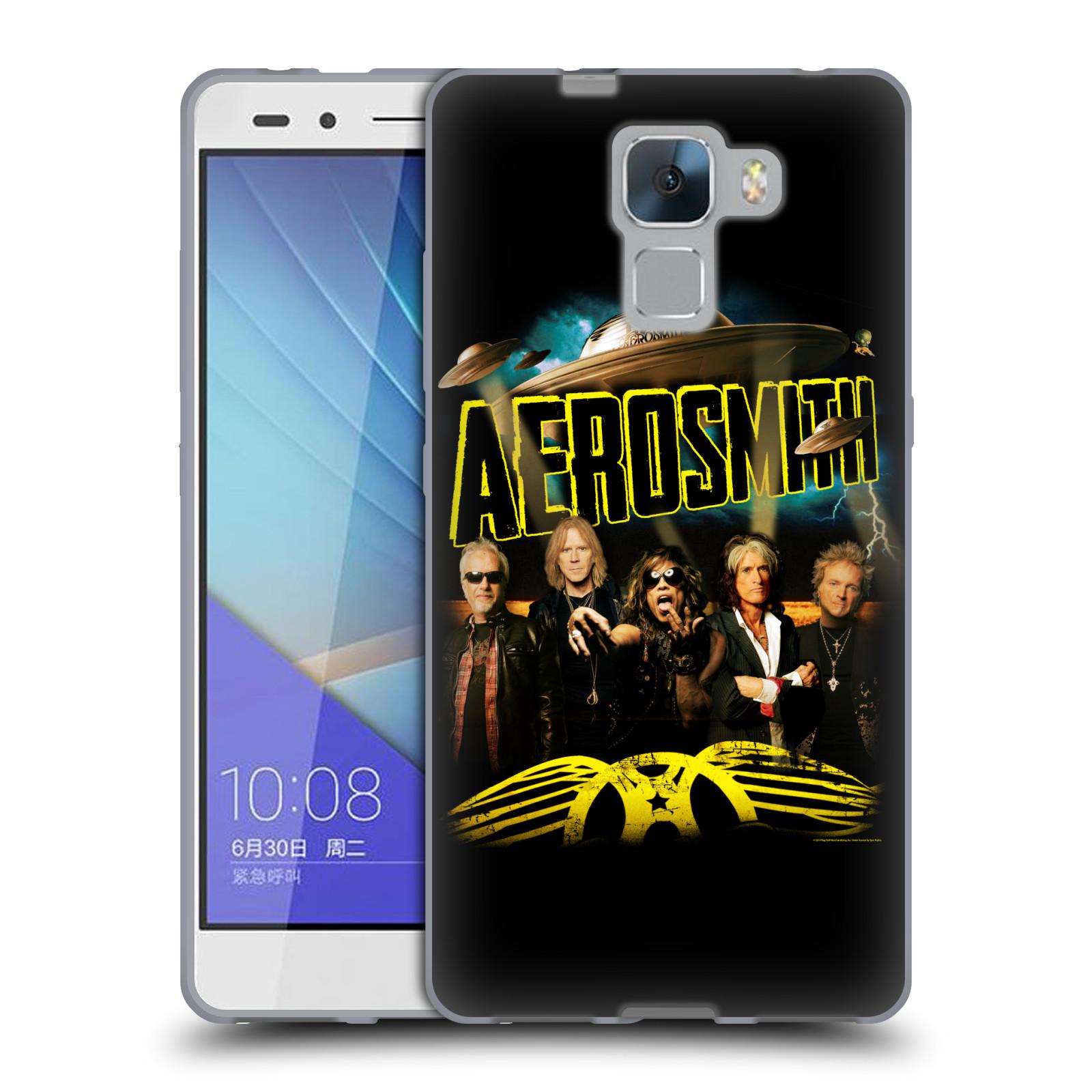 Silikonové pouzdro na mobil Honor 7 HEAD CASE - Aerosmith - Global Warming