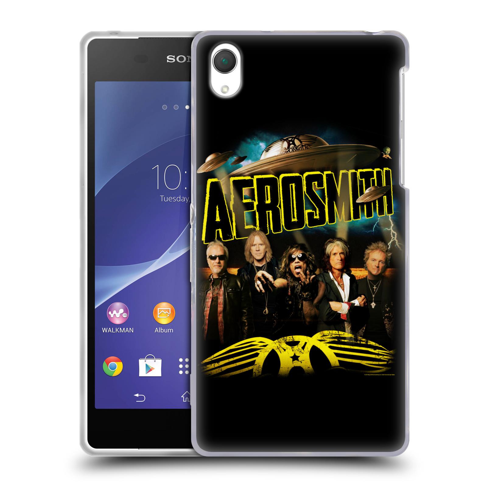Silikonové pouzdro na mobil Sony Xperia Z2 D6503 HEAD CASE - Aerosmith - Global Warming (Silikonový kryt či obal na mobilní telefon s licencovaným motivem Aerosmith pro Sony Xperia Z2)