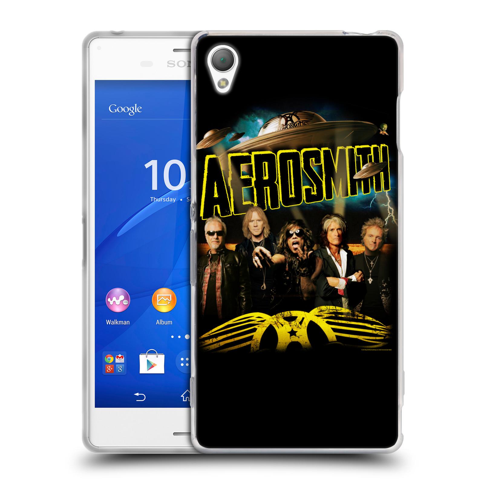 Silikonové pouzdro na mobil Sony Xperia Z3 D6603 HEAD CASE - Aerosmith - Global Warming (Silikonový kryt či obal na mobilní telefon s licencovaným motivem Aerosmith pro Sony Xperia Z3)