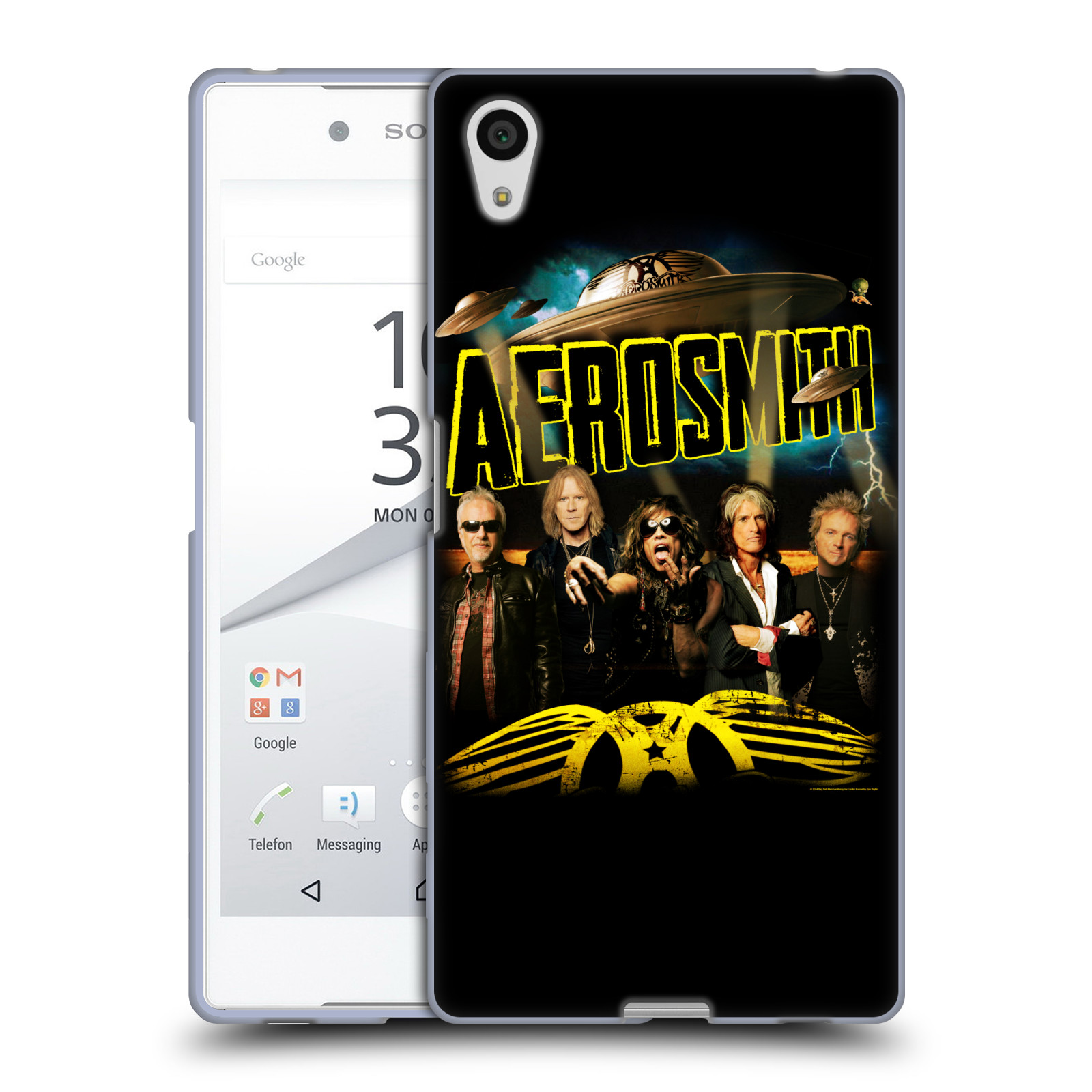 Silikonové pouzdro na mobil Sony Xperia Z5 HEAD CASE - Aerosmith - Global Warming (Silikonový kryt či obal na mobilní telefon s licencovaným motivem Aerosmith pro Sony Xperia Z5 E6653)